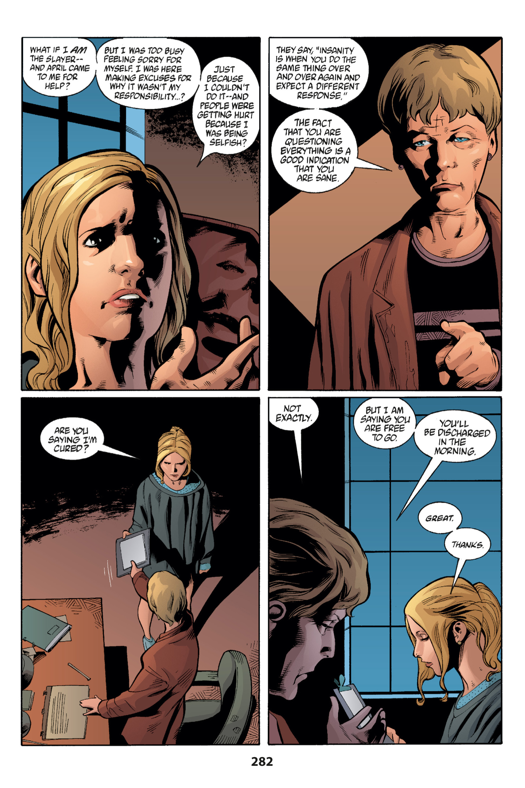 Read online Buffy the Vampire Slayer: Omnibus comic -  Issue # TPB 1 - 273