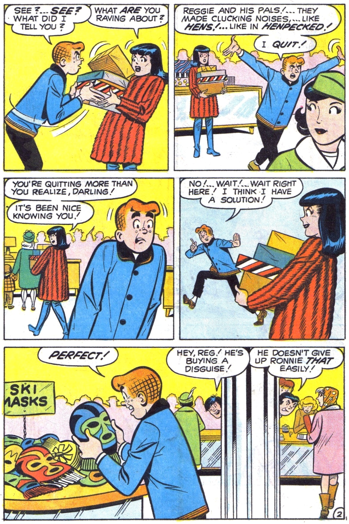 Read online Archie (1960) comic -  Issue #190 - 14