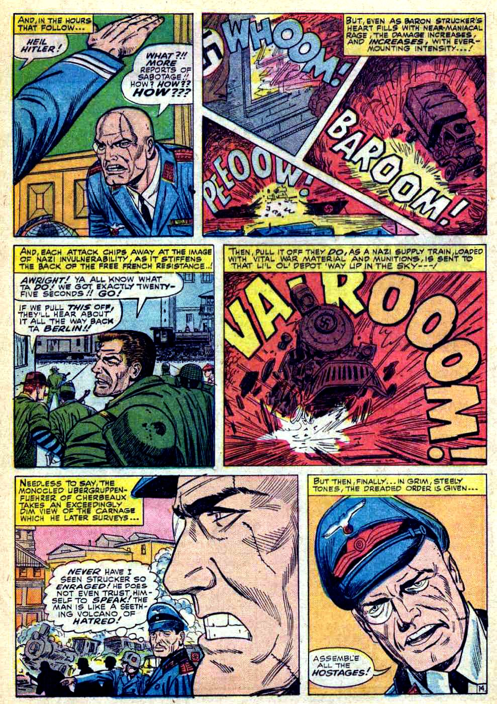 Read online Sgt. Fury comic -  Issue #28 - 20