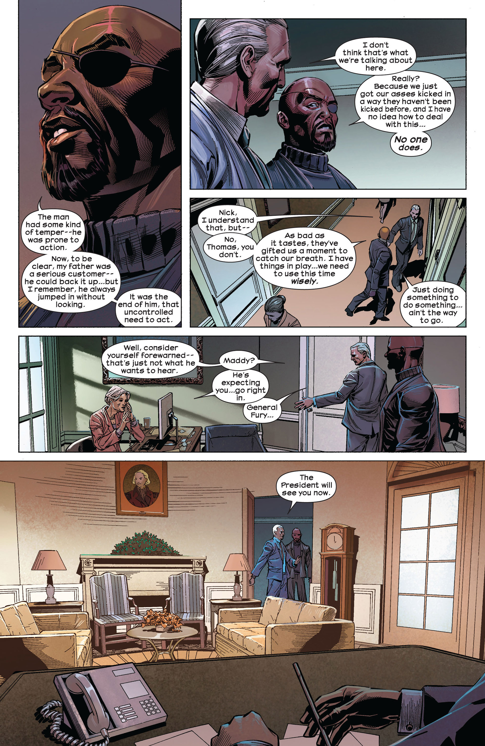 Read online Ultimate Comics Ultimates comic -  Issue #5 - 5