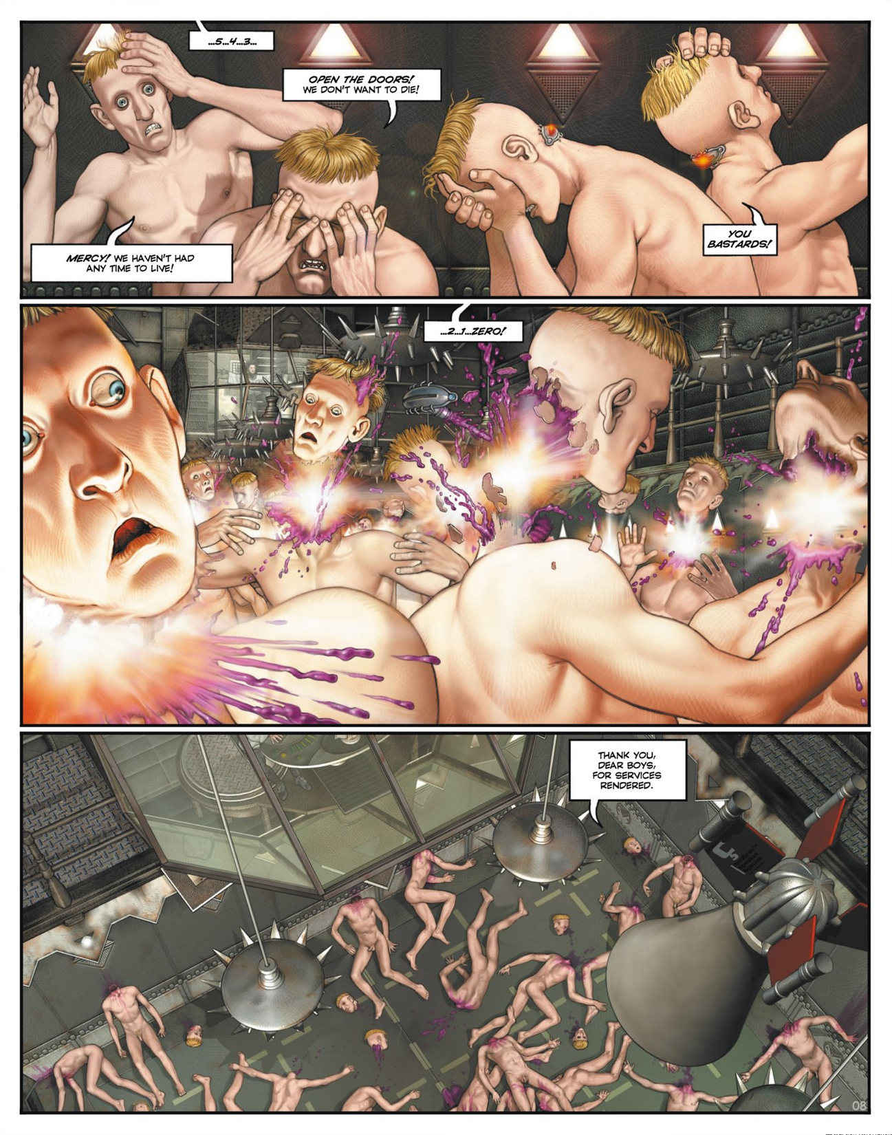 Read online Megalex (2014) comic -  Issue #1 - 13