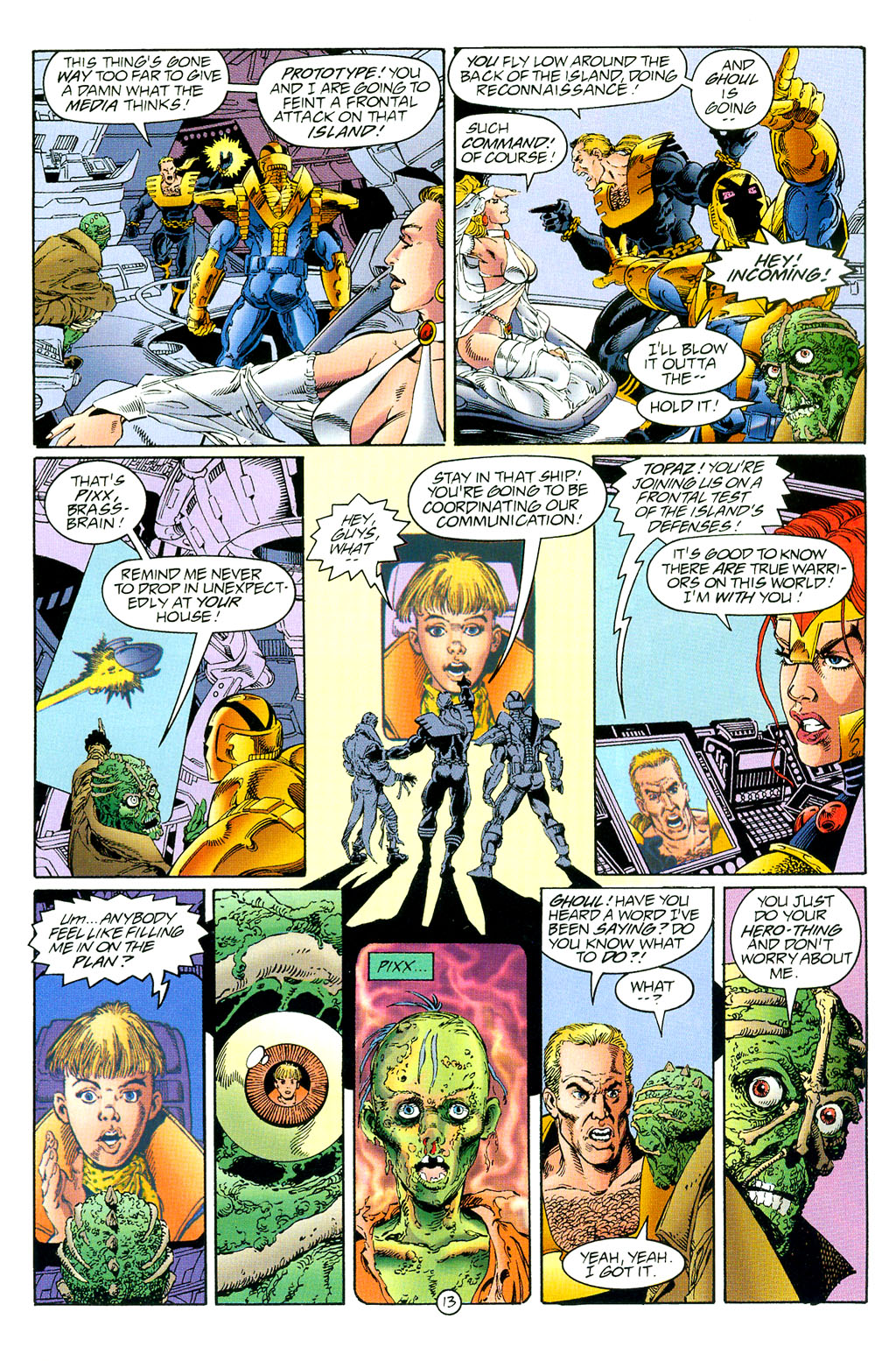 Read online UltraForce (1994) comic -  Issue #3 - 14