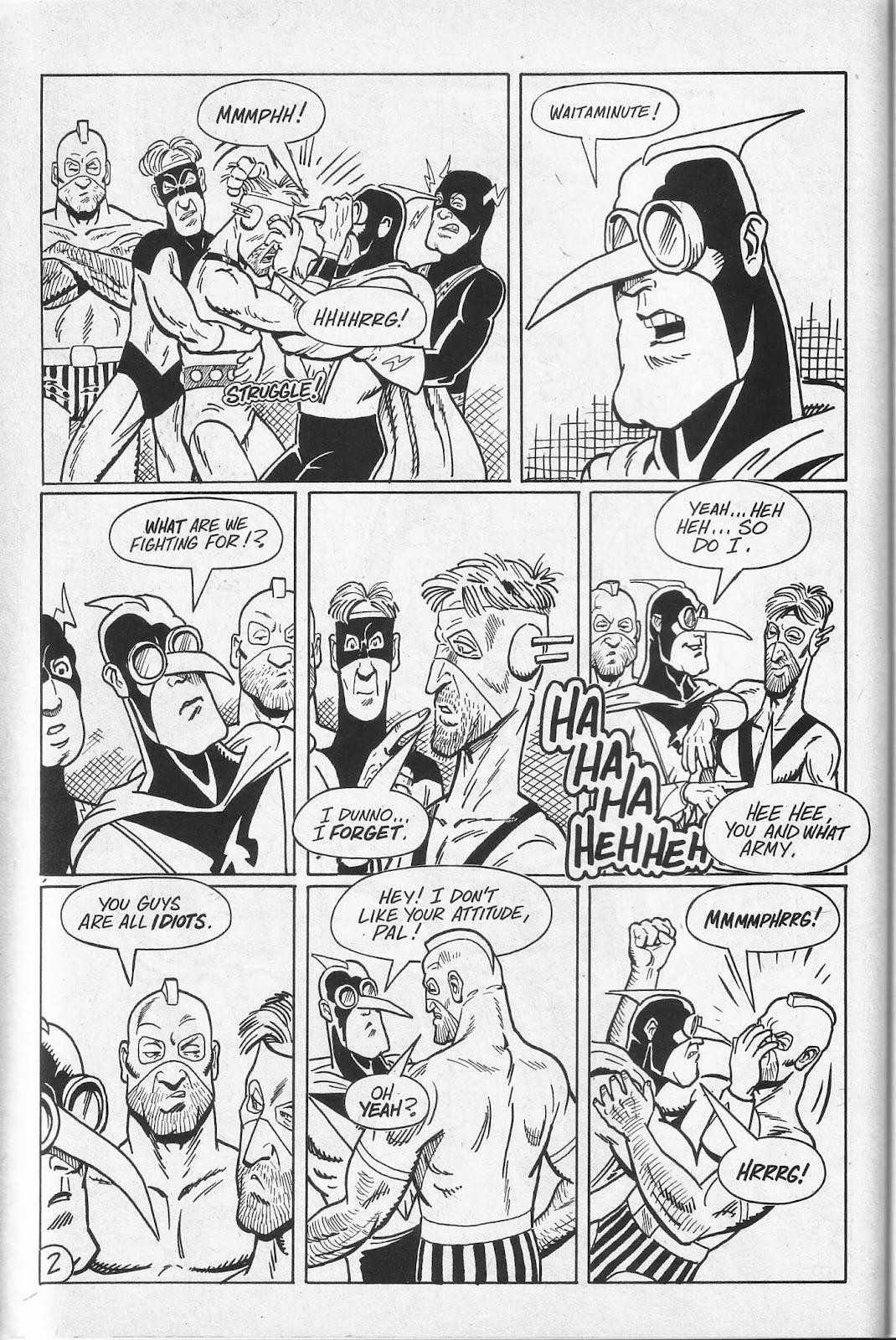 Read online Paul the Samurai (1991) comic -  Issue # TPB - 68
