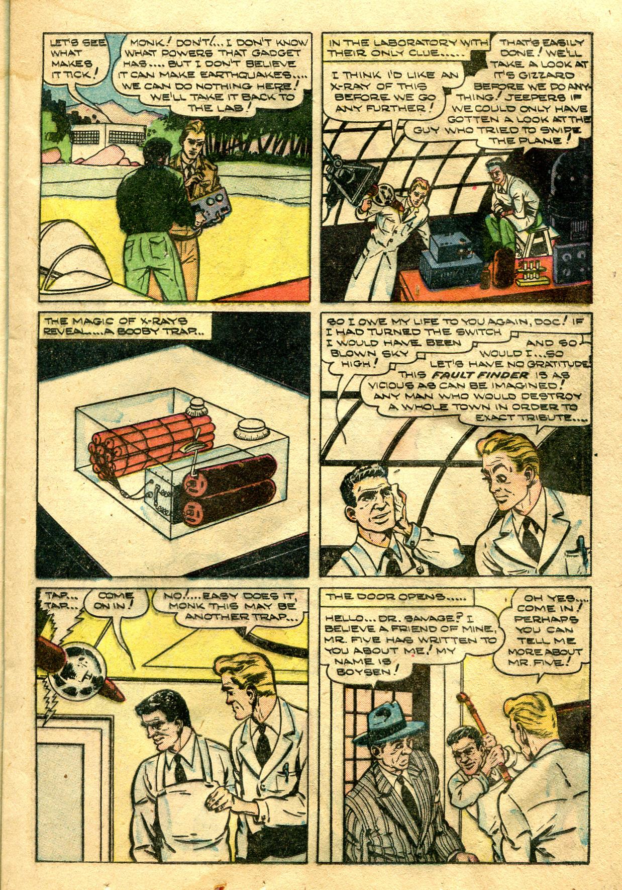 Read online Shadow Comics comic -  Issue #99 - 23