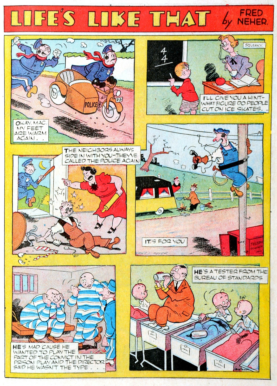Read online Famous Funnies comic -  Issue #60 - 21