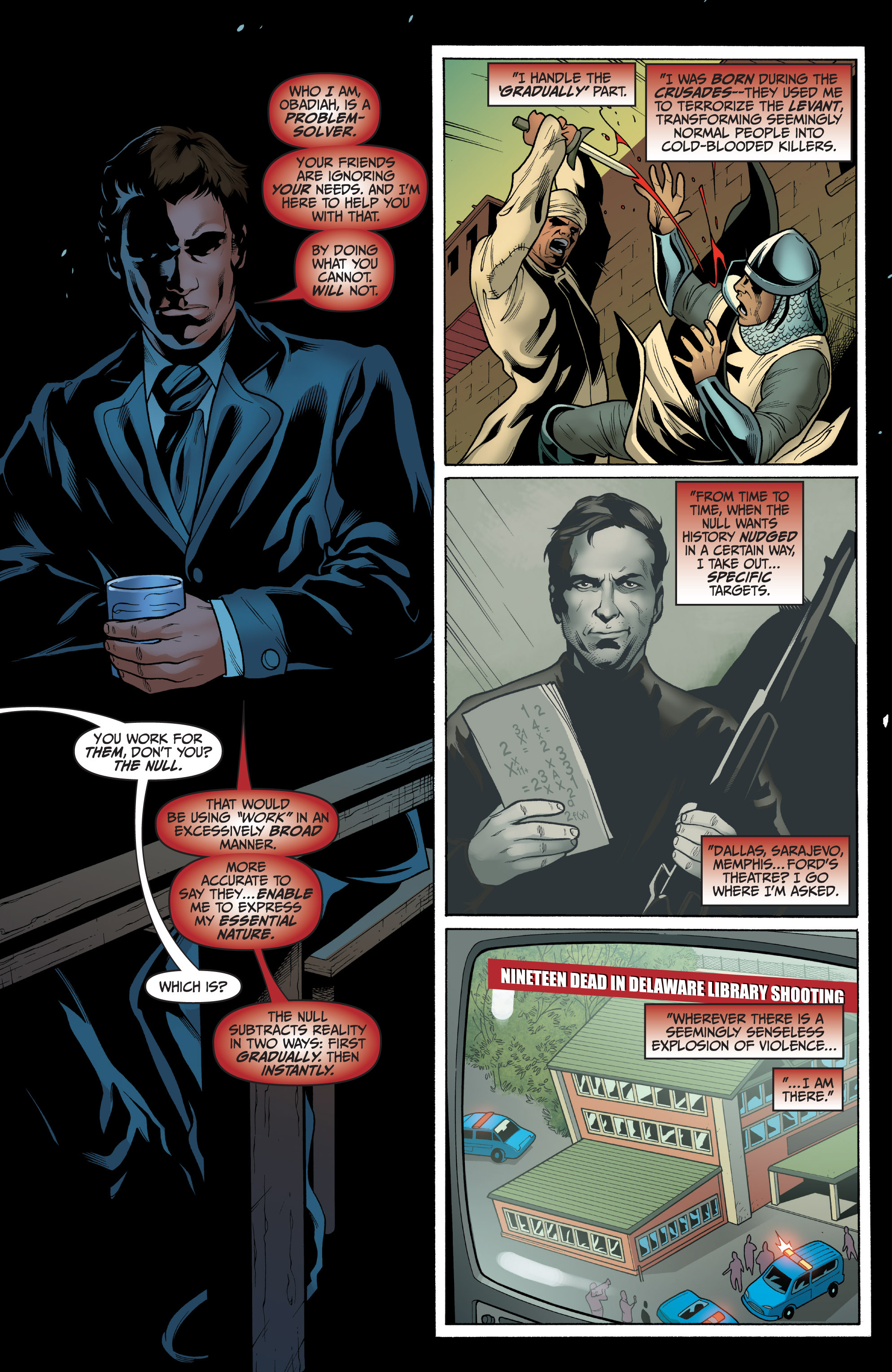Read online Archer and Armstrong comic -  Issue #8 - 18