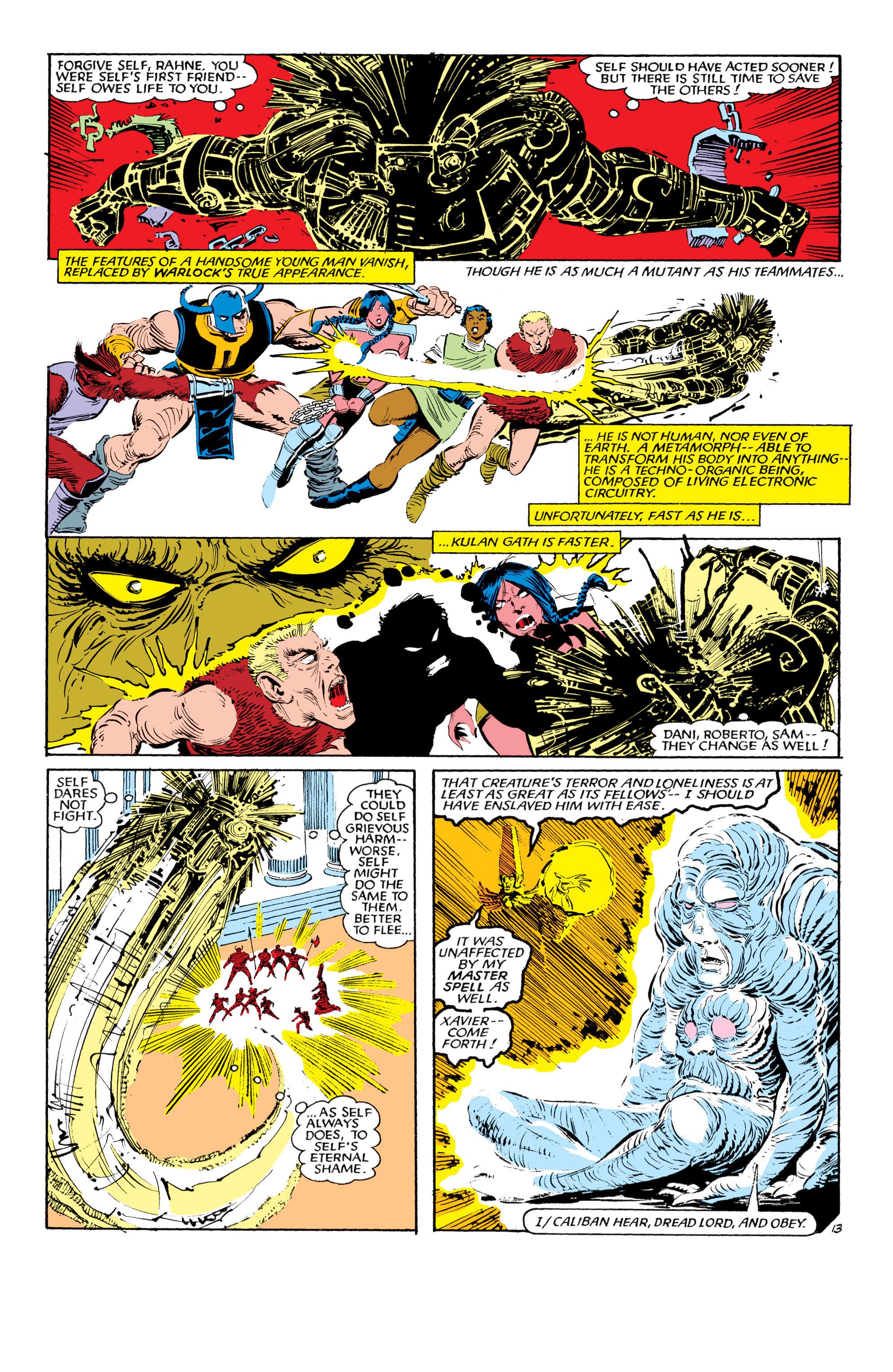 Read online Uncanny X-Men (1963) comic -  Issue #190 - 13