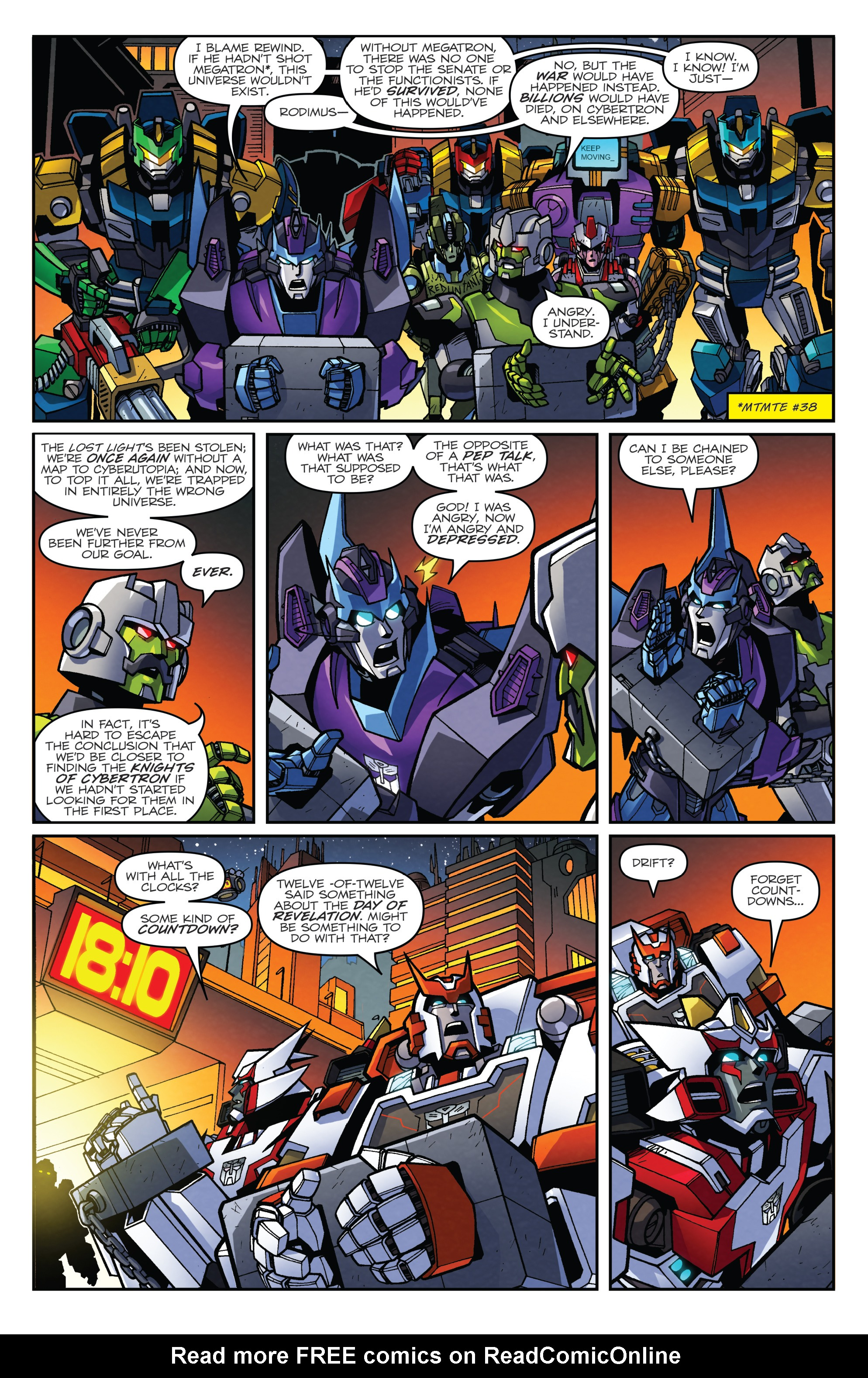 Read online Transformers: Lost Light comic -  Issue #2 - 8