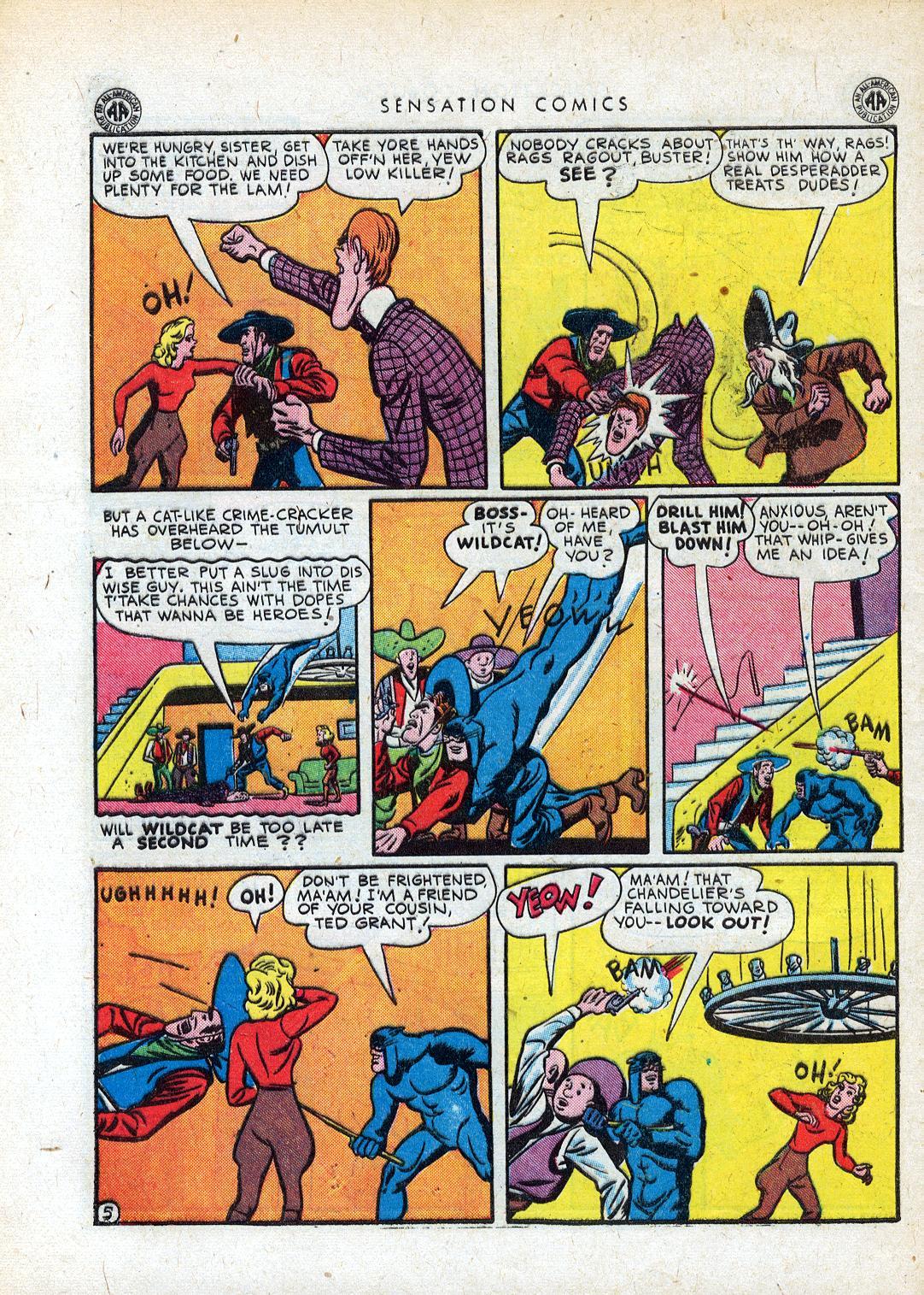 Read online Sensation (Mystery) Comics comic -  Issue #41 - 46