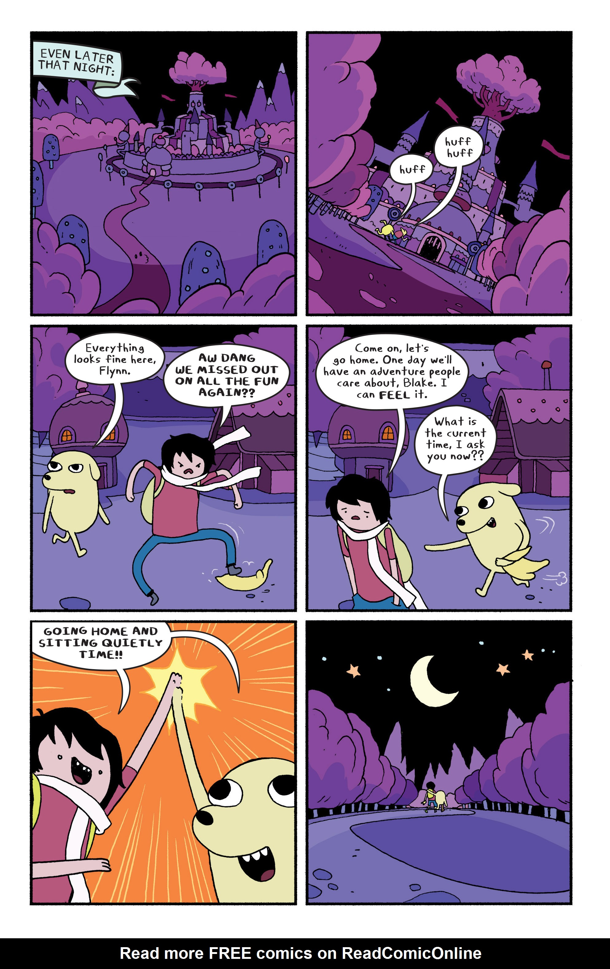 Read online Adventure Time comic -  Issue #29 - 18