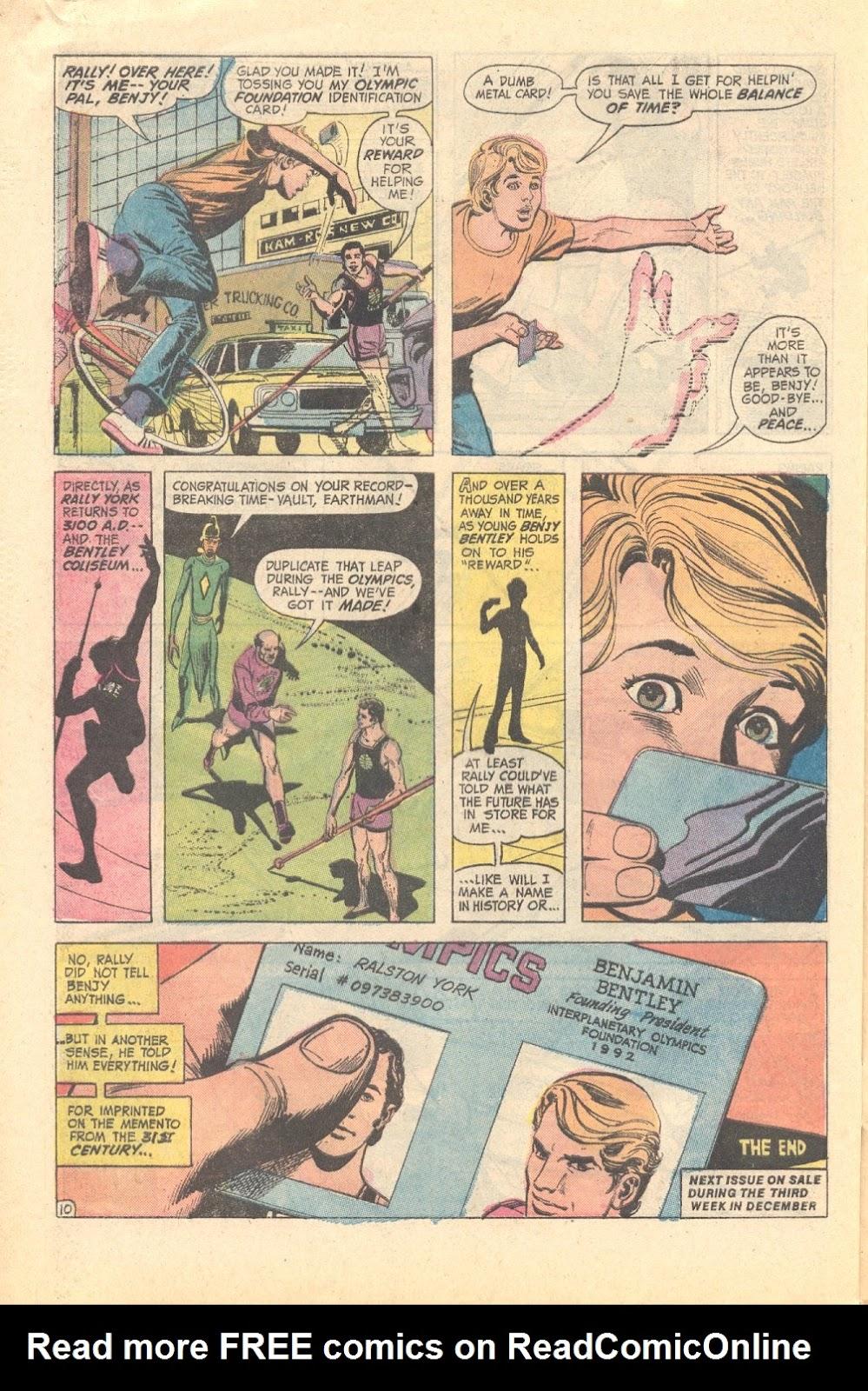 Read online Strange Sports Stories (1973) comic -  Issue #3 - 22