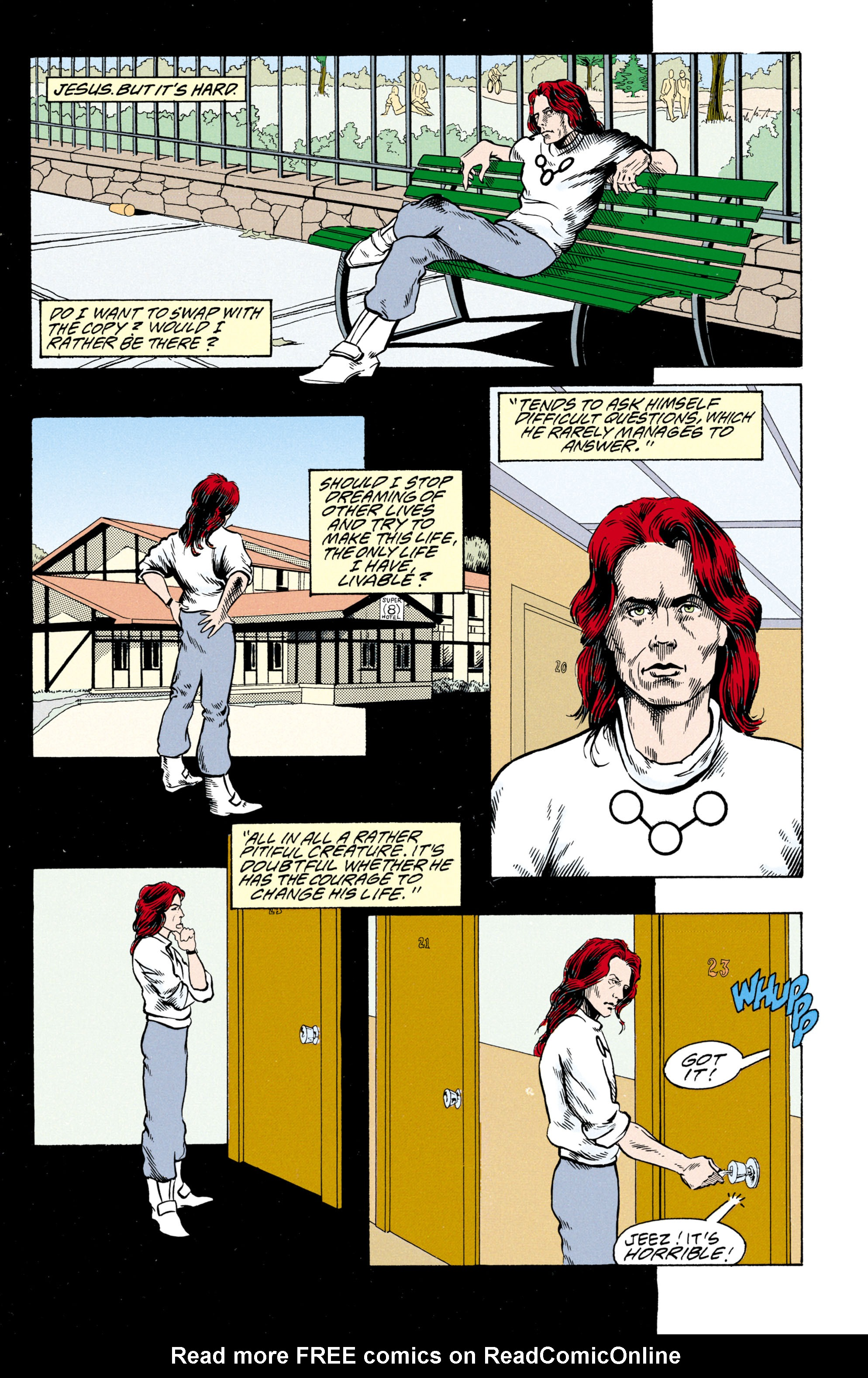 Read online Shade, the Changing Man comic -  Issue #30 - 24