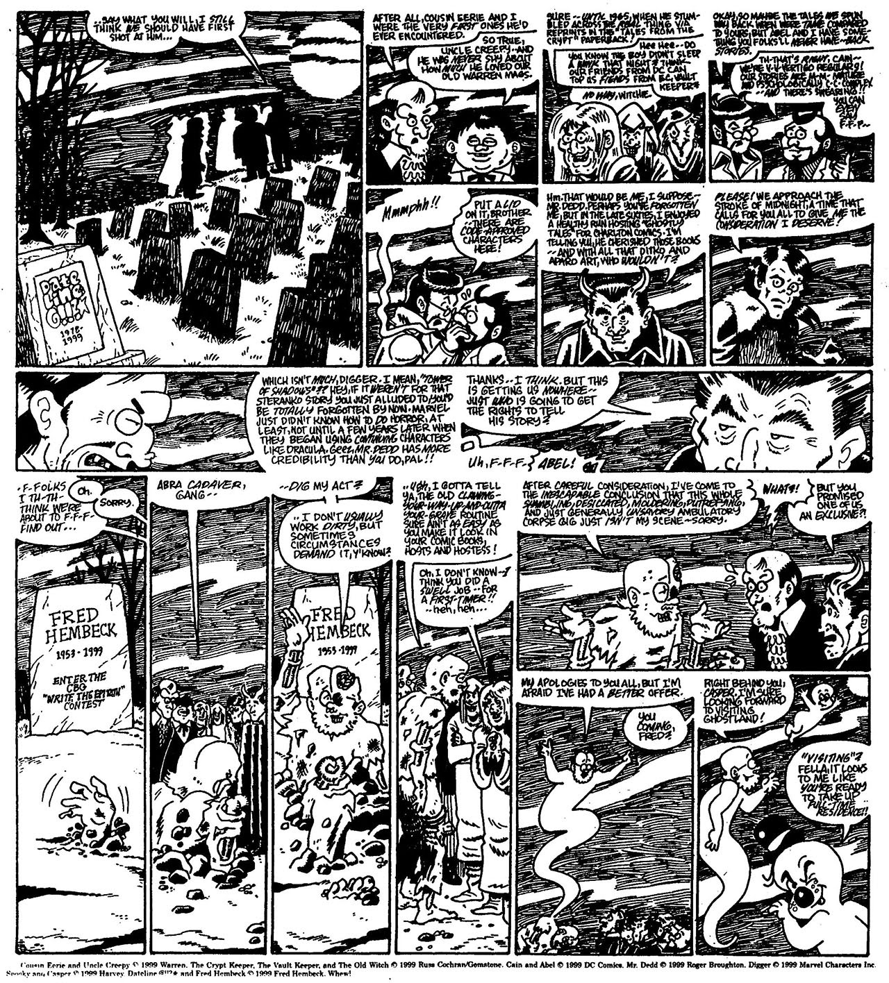 Read online The Nearly Complete Essential Hembeck Archives Omnibus comic -  Issue # TPB (Part 7) - 89