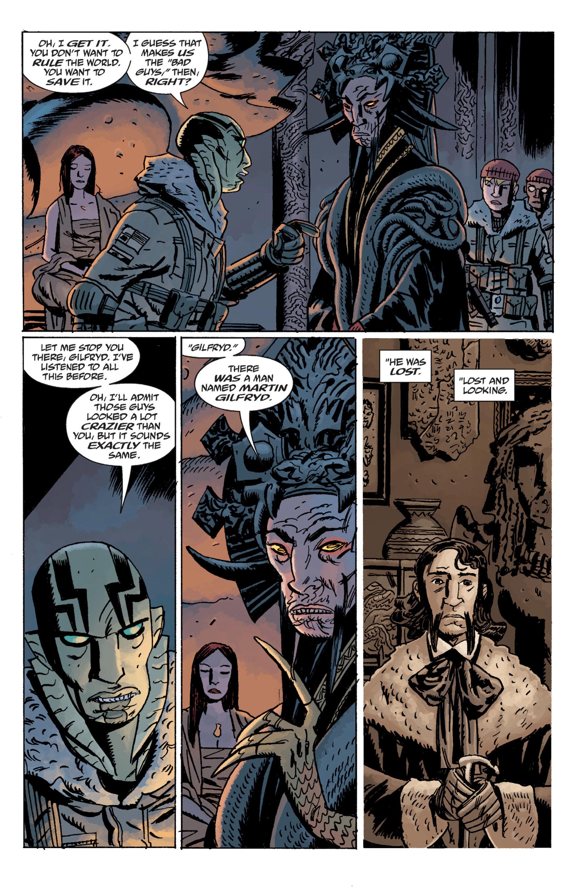 Read online B.P.R.D. (2003) comic -  Issue # TPB 11 - 60