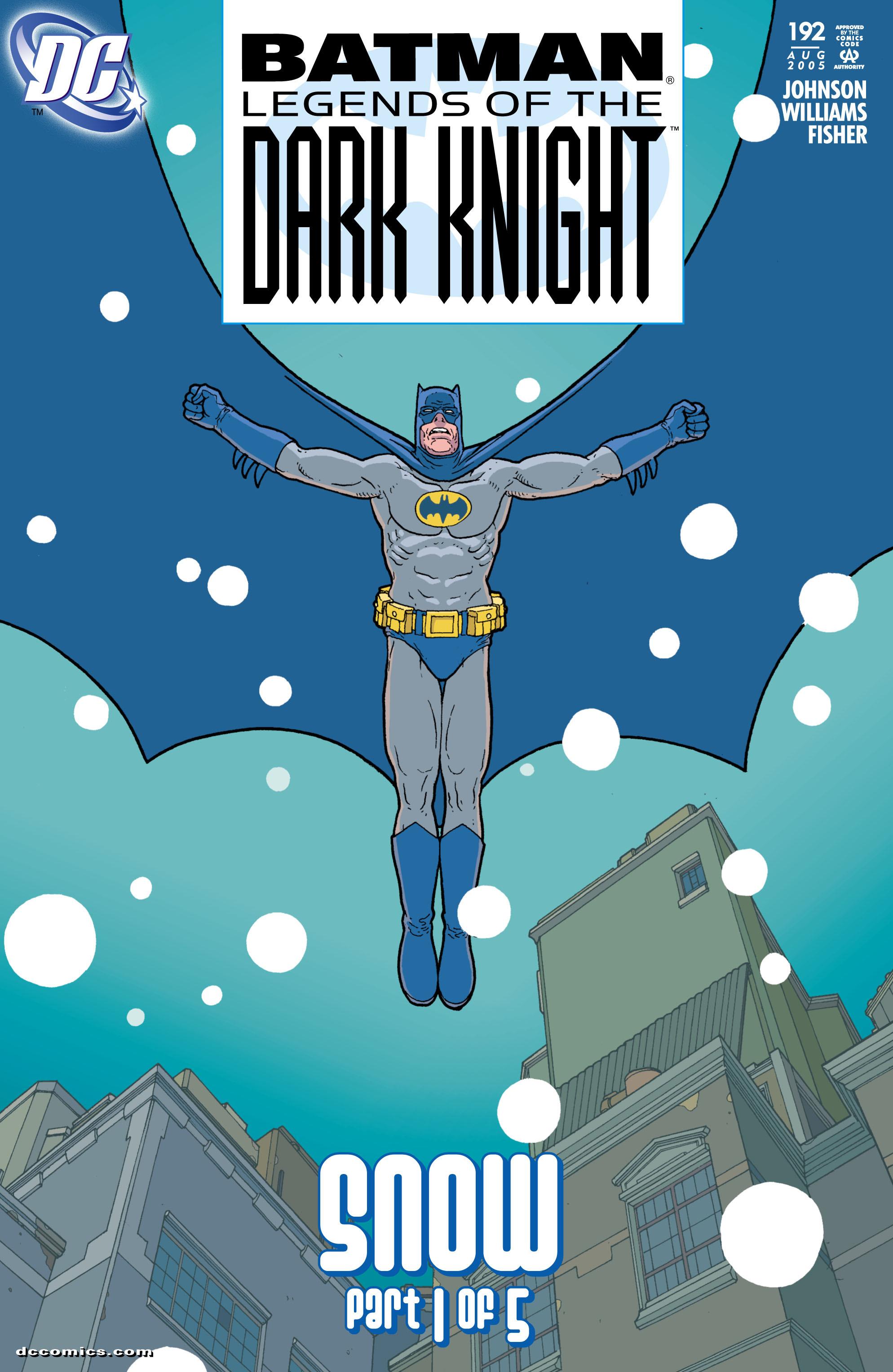 Batman: Legends of the Dark Knight 192 Page 1