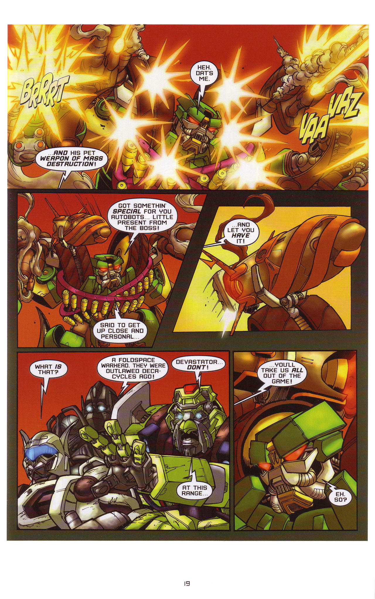 Read online Transformers: Saga of the Allspark comic -  Issue #1 - 20
