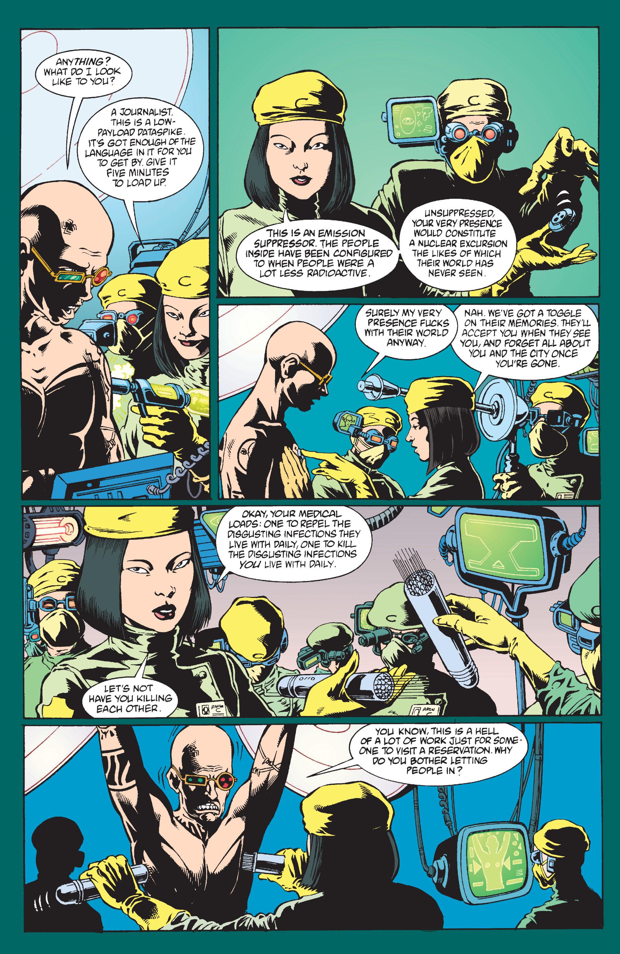Read online Transmetropolitan comic -  Issue #9 - 10