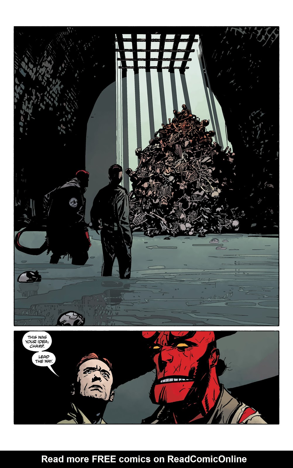 Read online Hellboy and the B.P.R.D. comic -  Issue # _TPB - 77