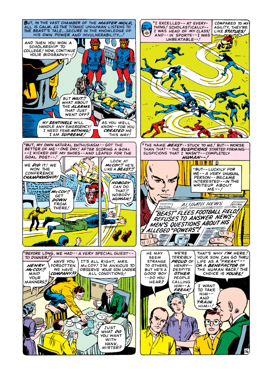 Read online Uncanny X-Men (1963) comic -  Issue #15 - 17