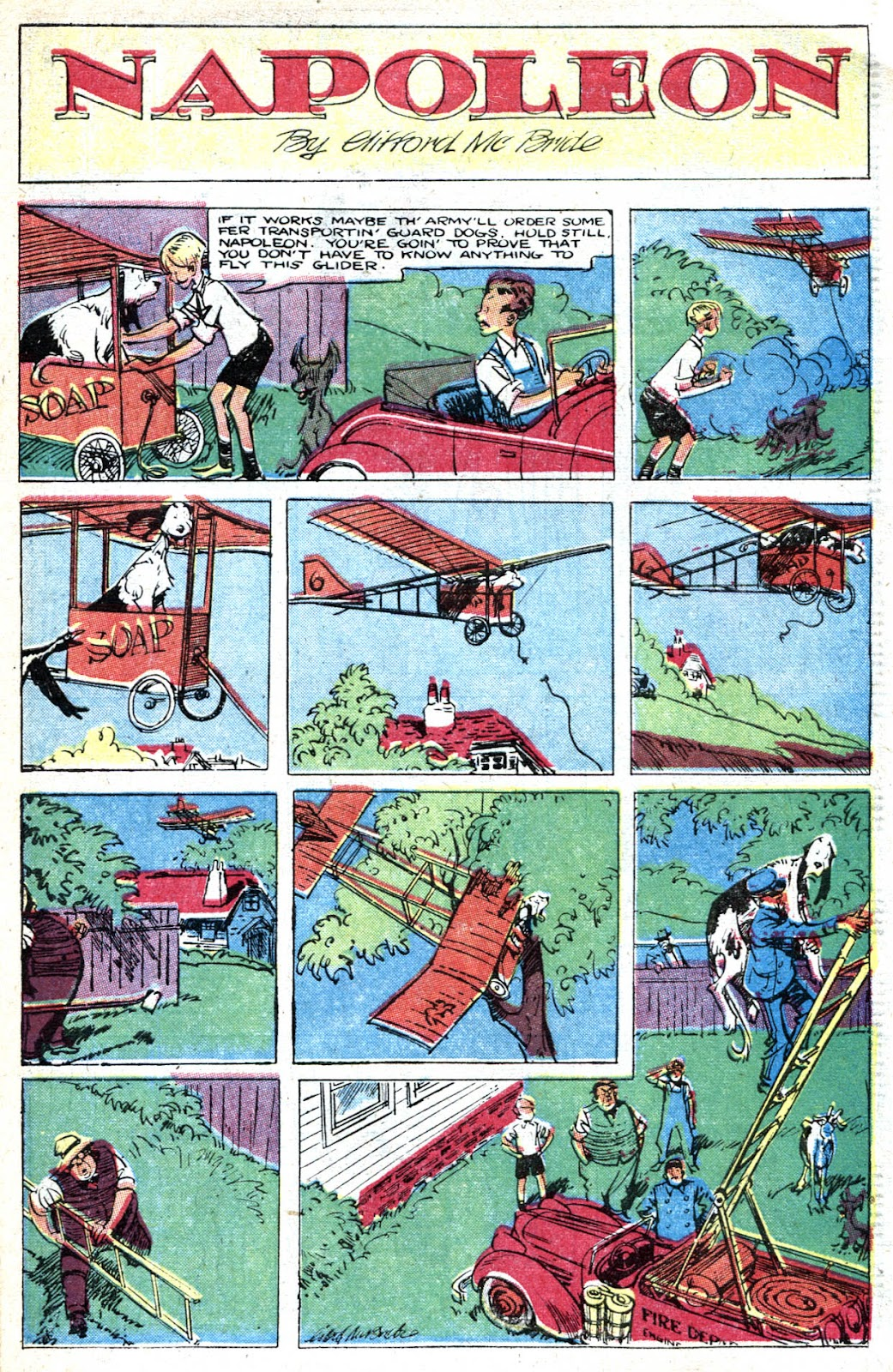 Read online Famous Funnies comic -  Issue #128 - 39