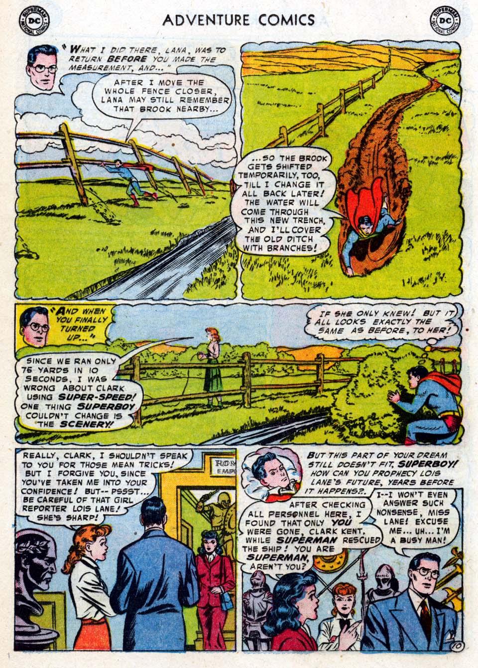 Read online Adventure Comics (1938) comic -  Issue #211 - 12