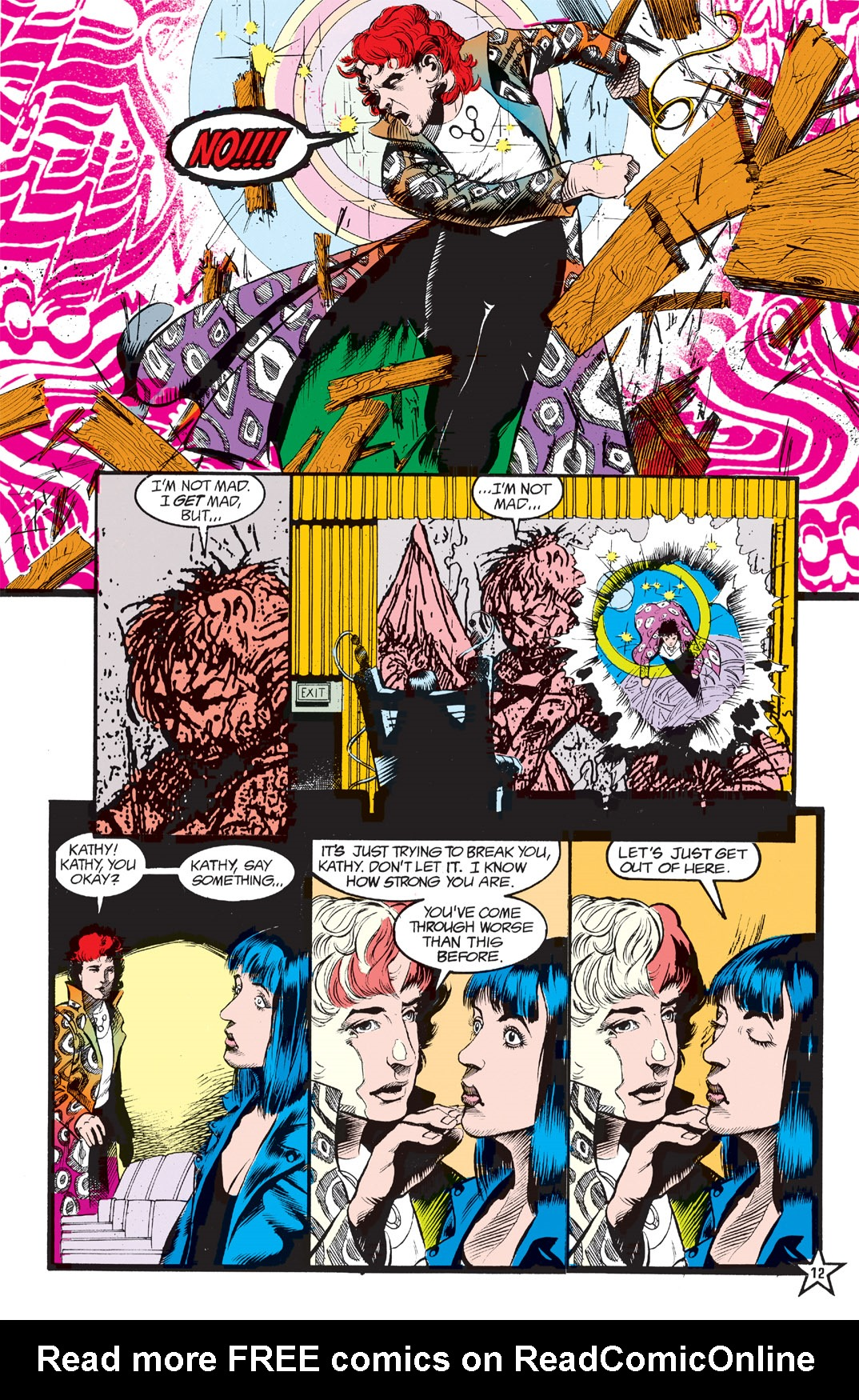Read online Shade, the Changing Man comic -  Issue #6 - 14