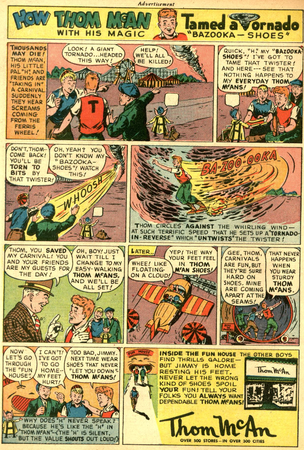 Read online Sensation (Mystery) Comics comic -  Issue #53 - 50