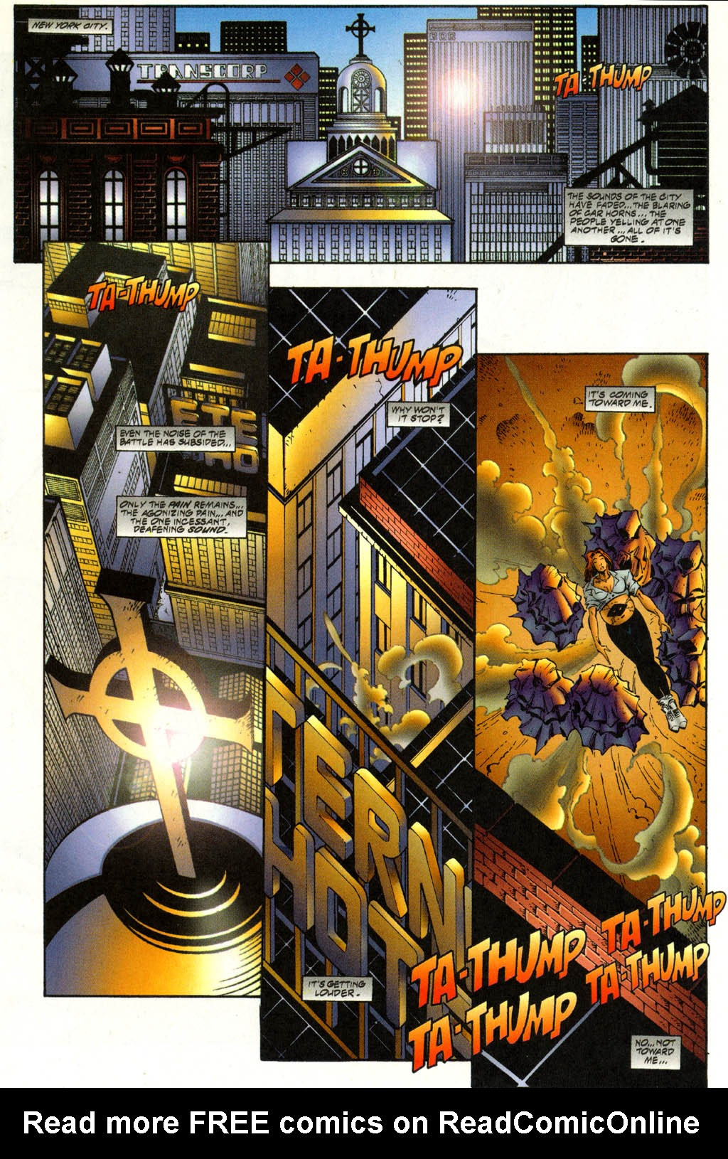 Read online Avengelyne (1996) comic -  Issue #3 - 3