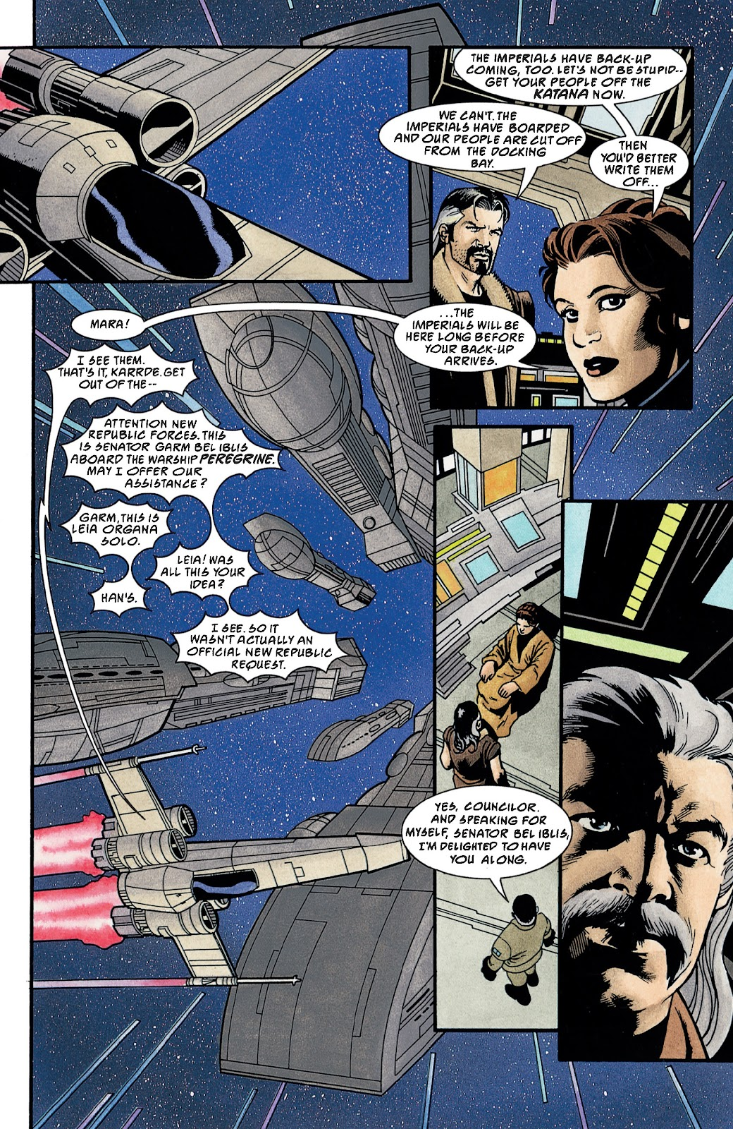 Read online Star Wars Legends: The New Republic - Epic Collection comic -  Issue # TPB 4 (Part 3) - 91
