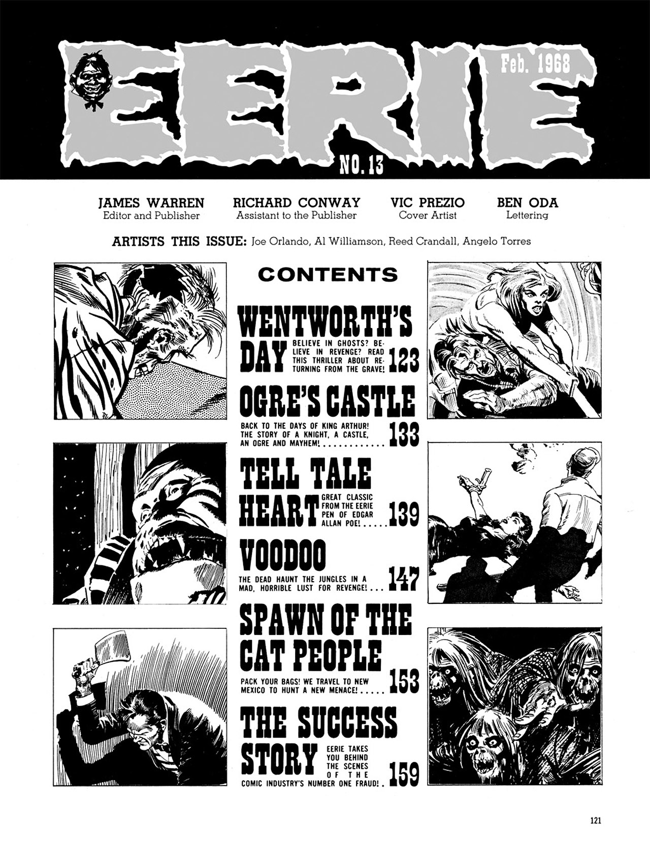 Read online Eerie Archives comic -  Issue # TPB 3 - 122
