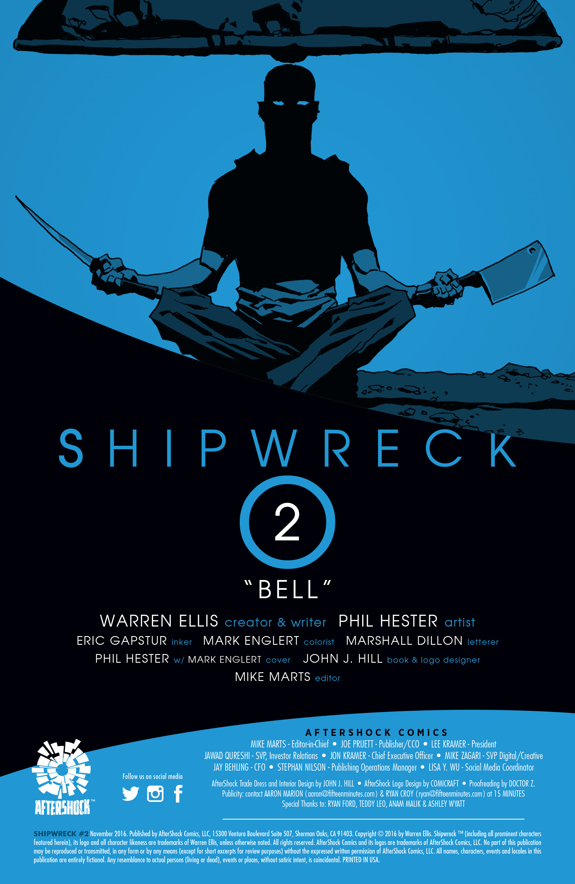 Read online Shipwreck comic -  Issue #2 - 2