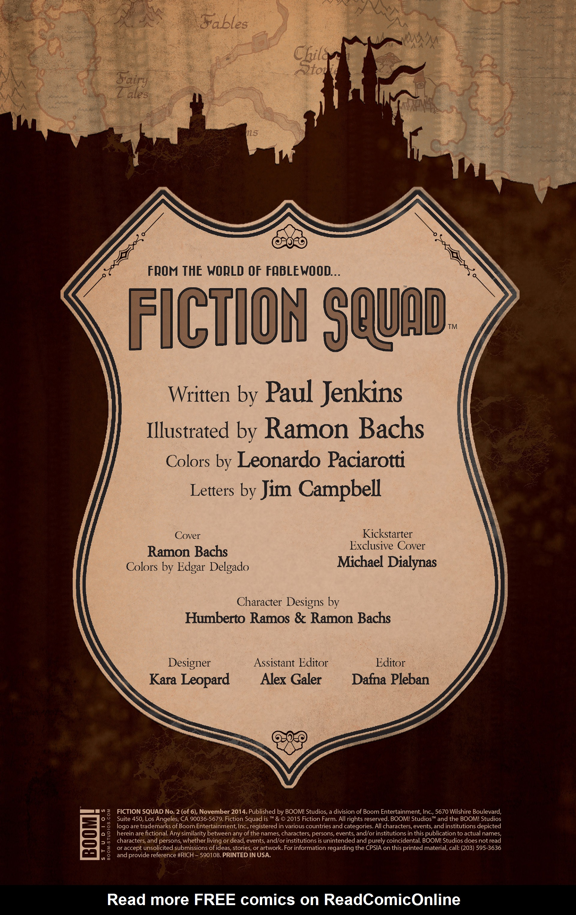 Read online Fiction Squad comic -  Issue #2 - 2