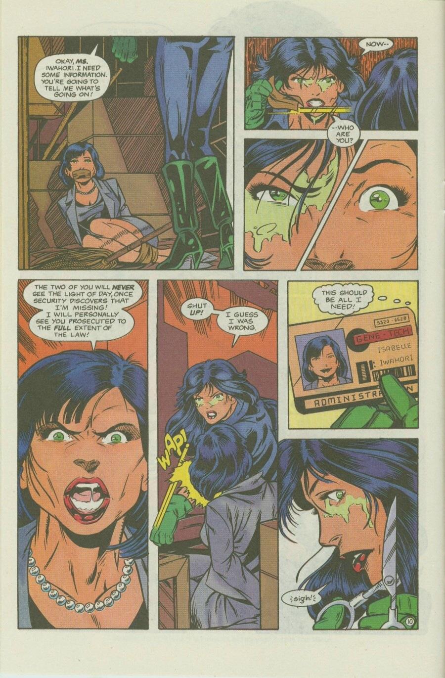 Read online Ex-Mutants comic -  Issue #8 - 14