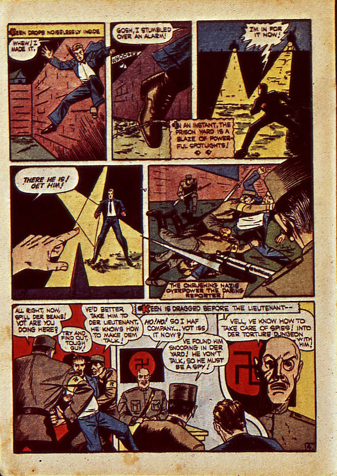 Mystic Comics (1940) issue 6 - Page 7
