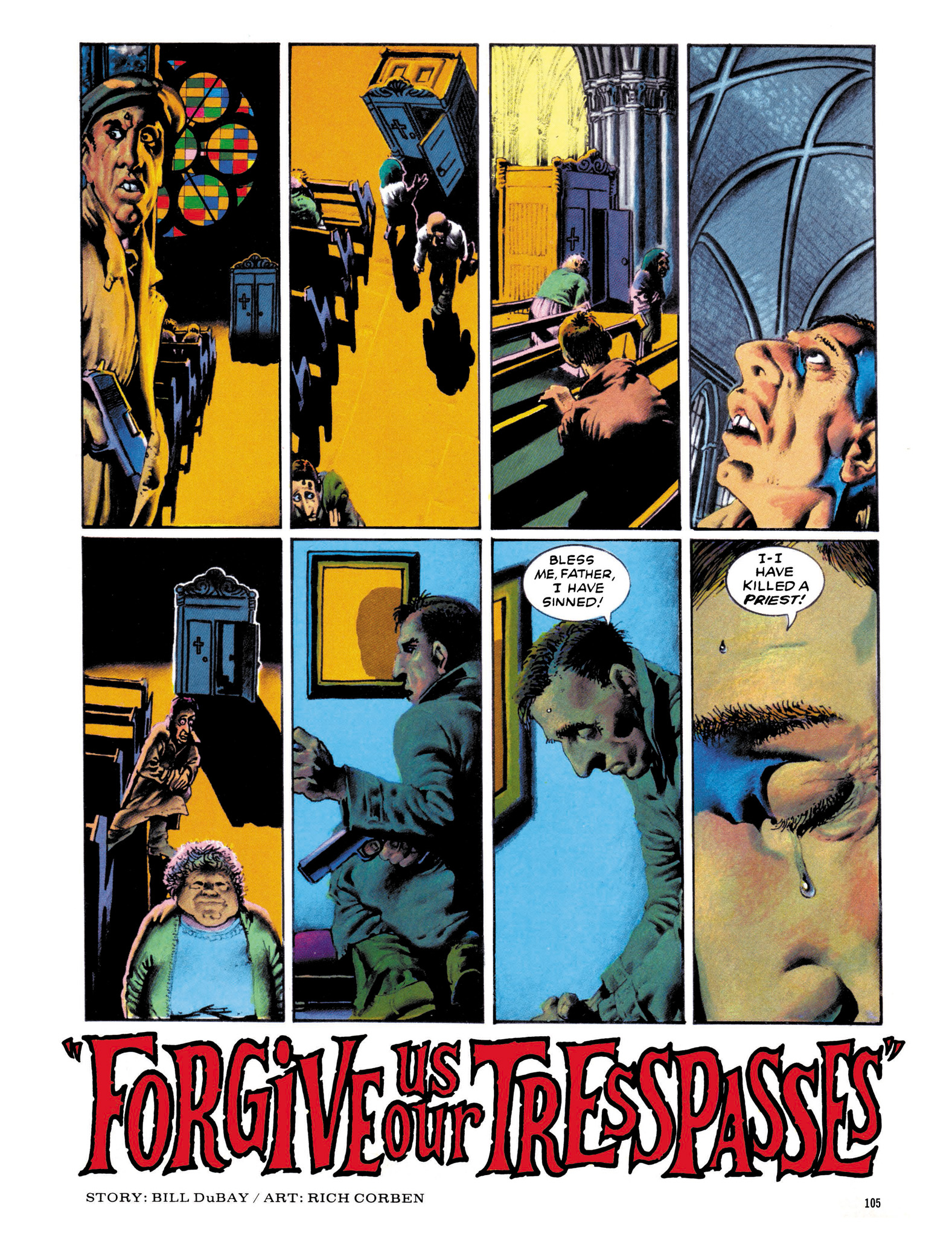 Read online Eerie Archives comic -  Issue # TPB 13 - 106