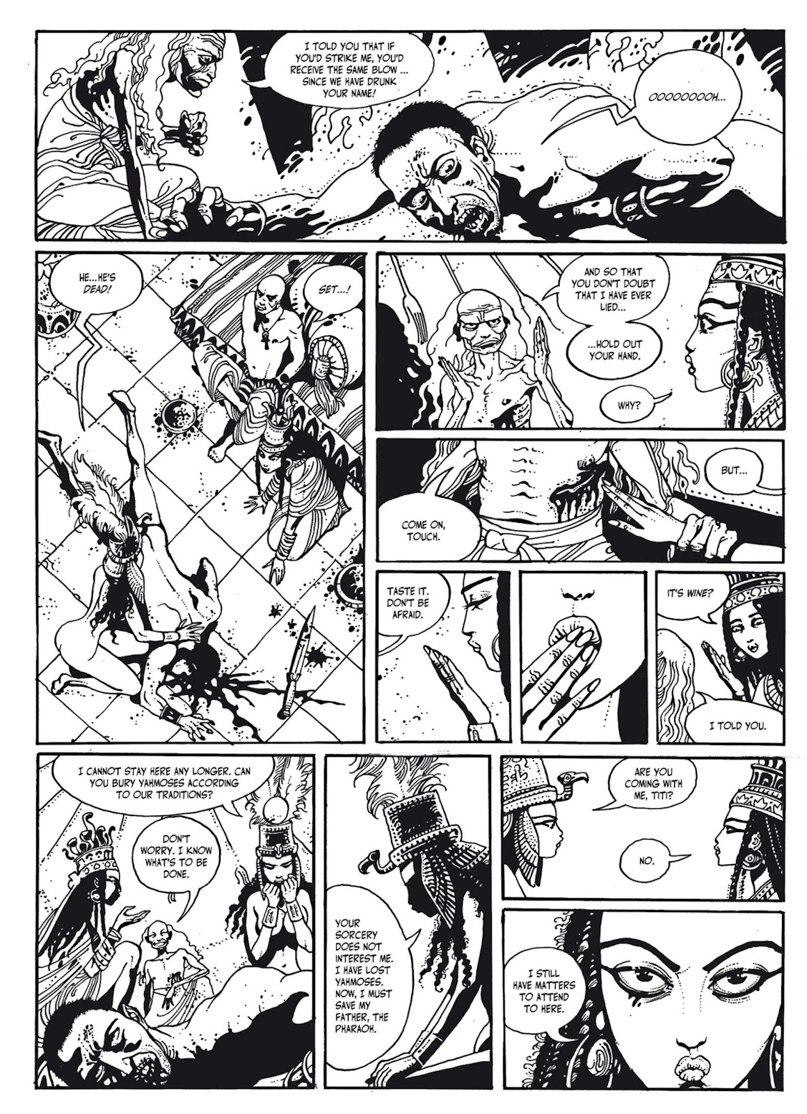 Read online The Egyptian Princesses comic -  Issue # TPB 1 (Part 3) - 14