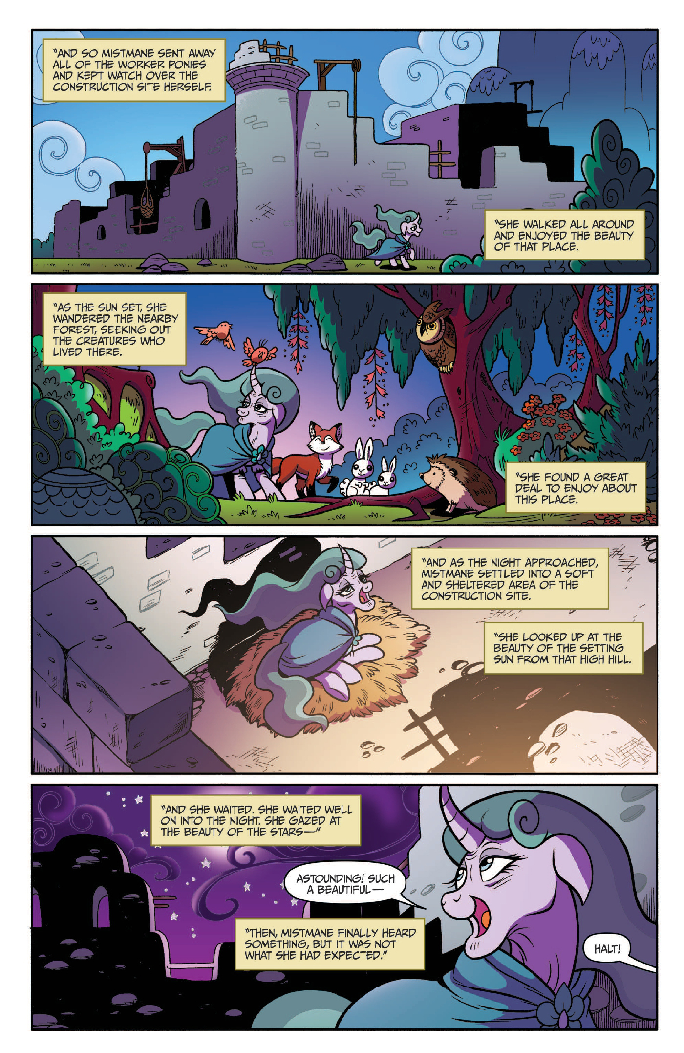 Read online My Little Pony: Legends of Magic comic -  Issue #3 - 9