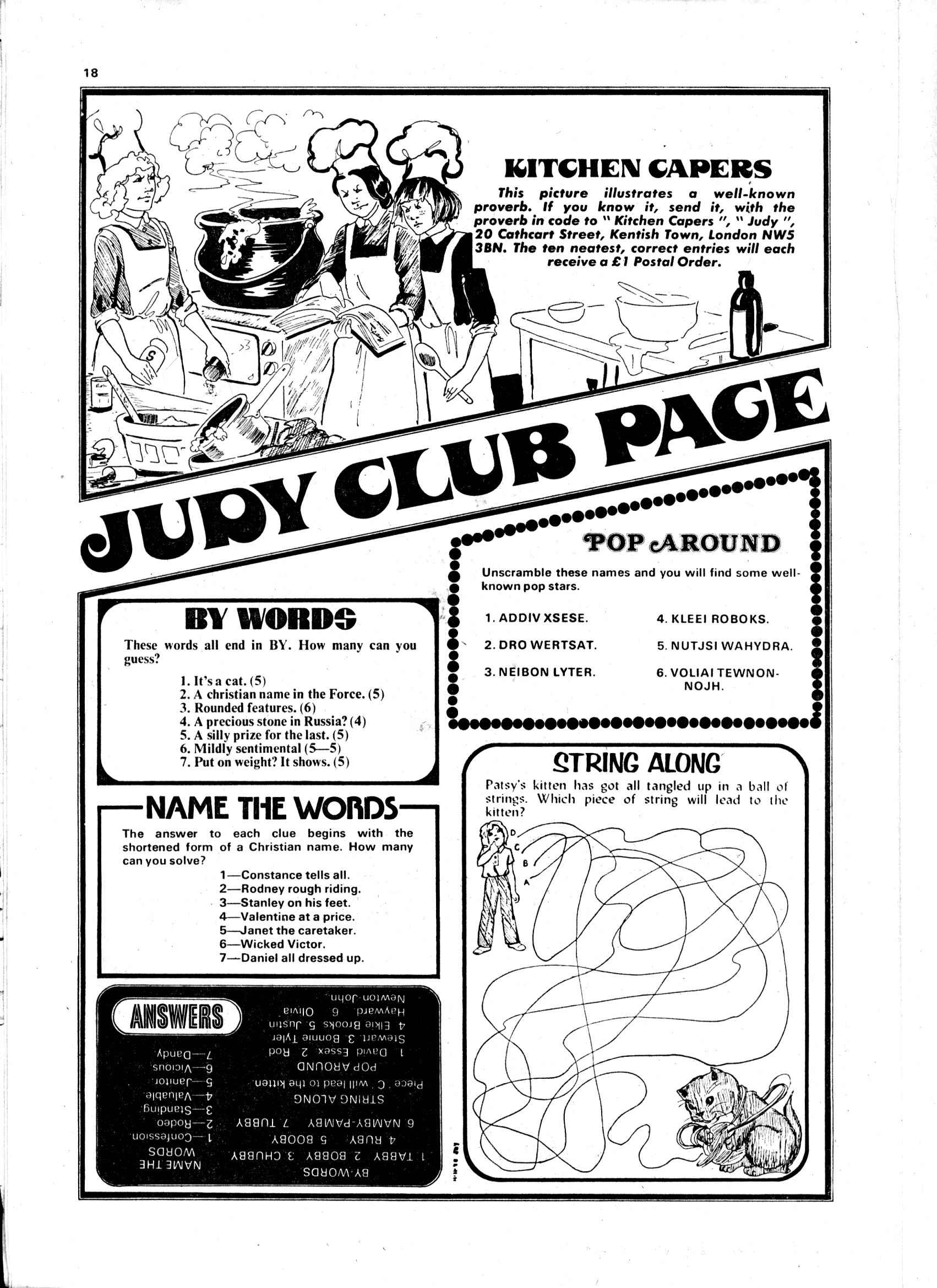 Read online Judy comic -  Issue #983 - 18