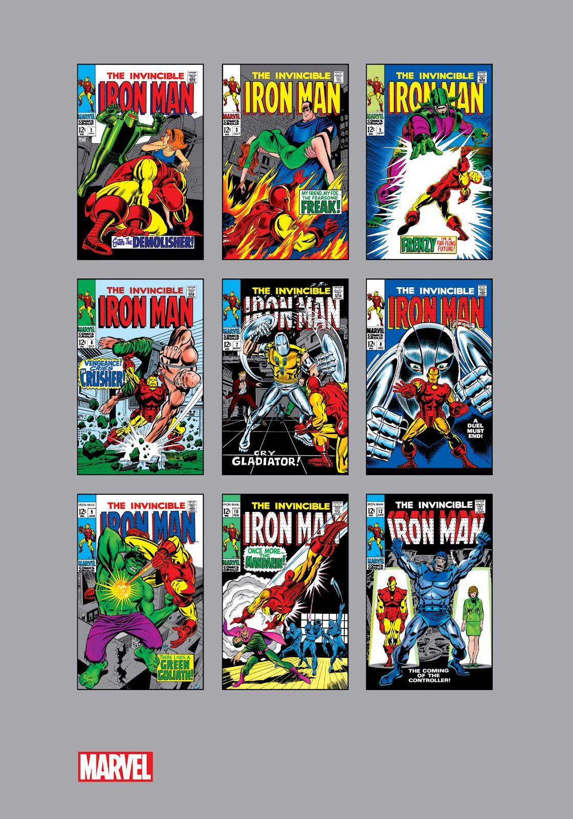 Read online Marvel Masterworks: The Invincible Iron Man comic -  Issue # TPB 5 (Part 3) - 72