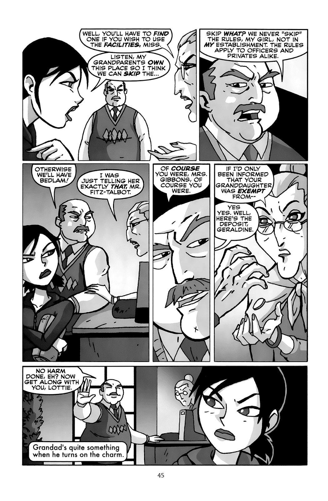 Read online Clubbing comic -  Issue # TPB - 44