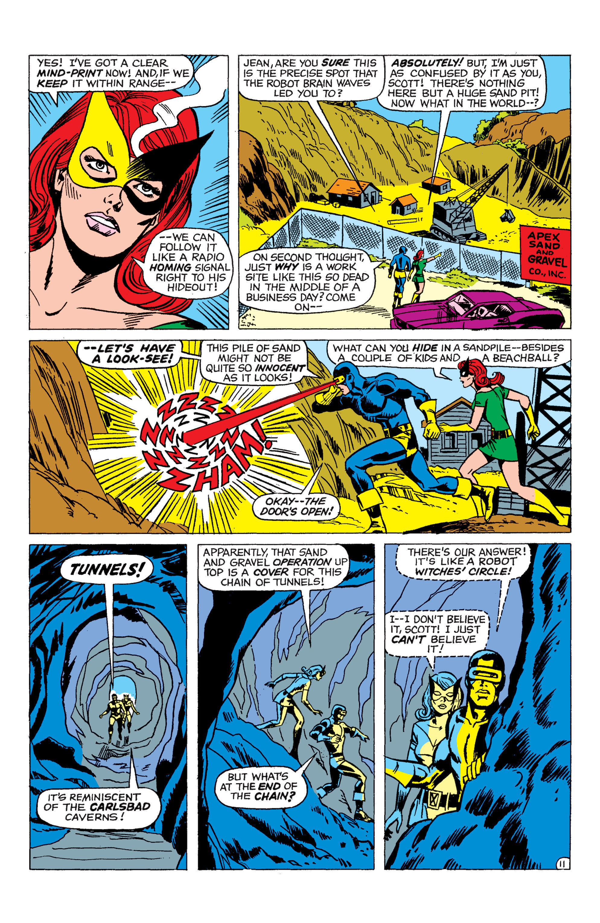 Read online Uncanny X-Men (1963) comic -  Issue #48 - 12
