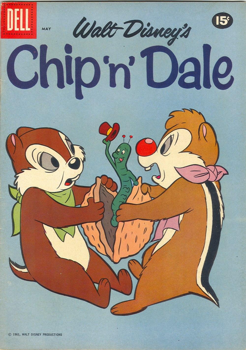Walt Disneys Chip N Dale issue 25 - Page 1