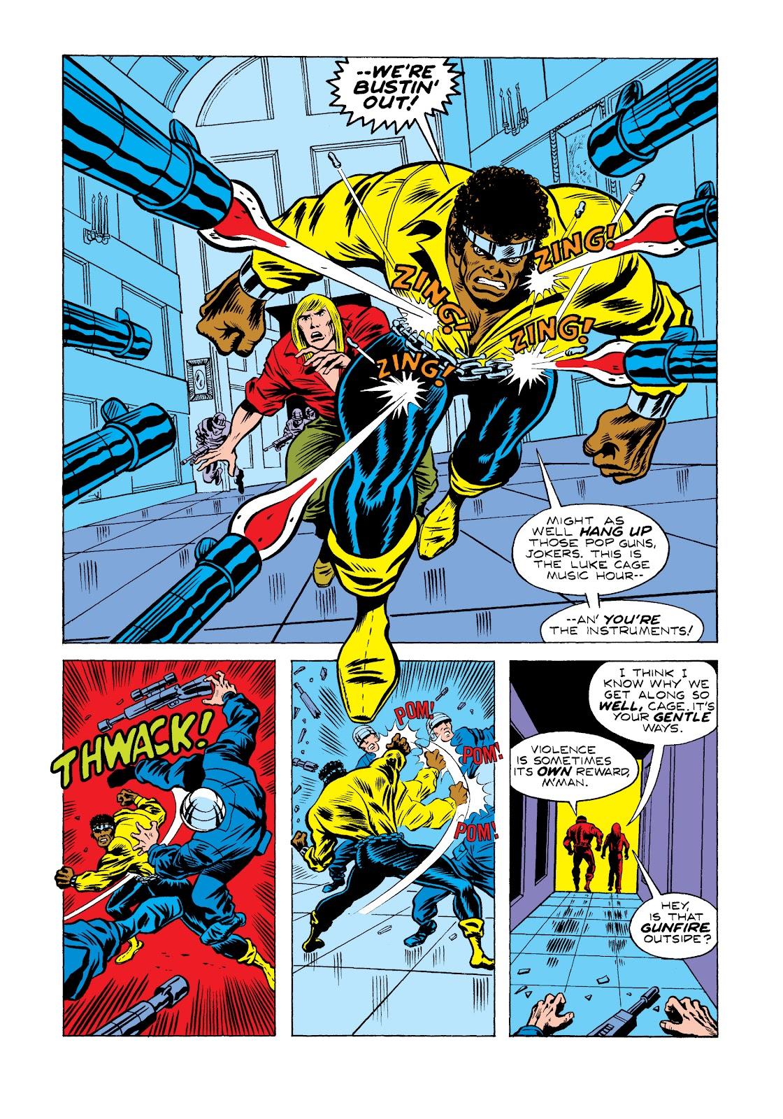 Read online Marvel Masterworks: Luke Cage, Power Man comic -  Issue # TPB 2 (Part 2) - 41