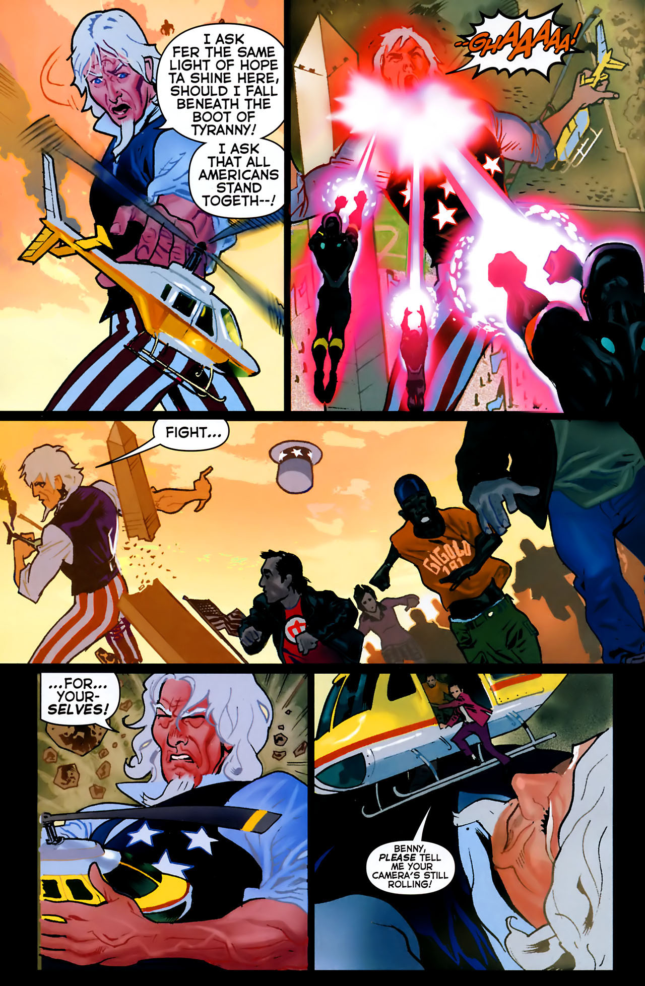 Read online Uncle Sam and the Freedom Fighters (2006) comic -  Issue #8 - 5