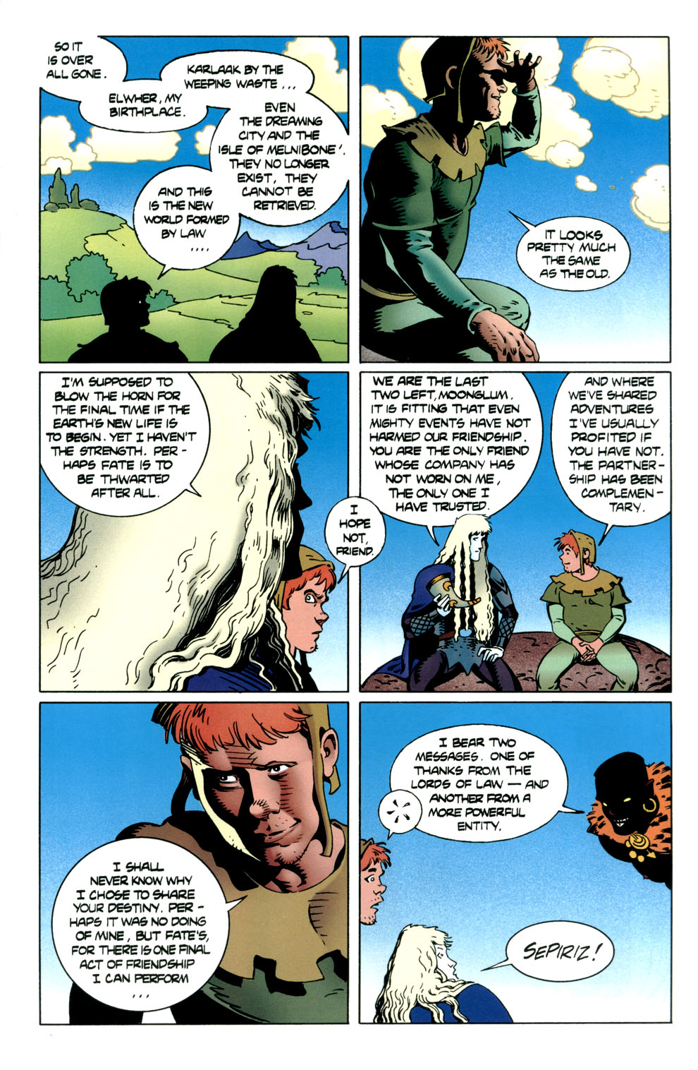 Read online Elric: Stormbringer comic -  Issue #7 - 21