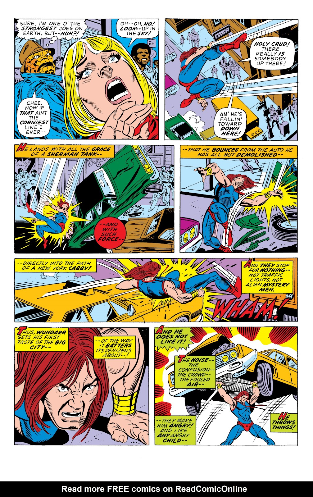 Read online Marvel Two-In-One Epic Collection: Cry Monster comic -  Issue # TPB (Part 1) - 73