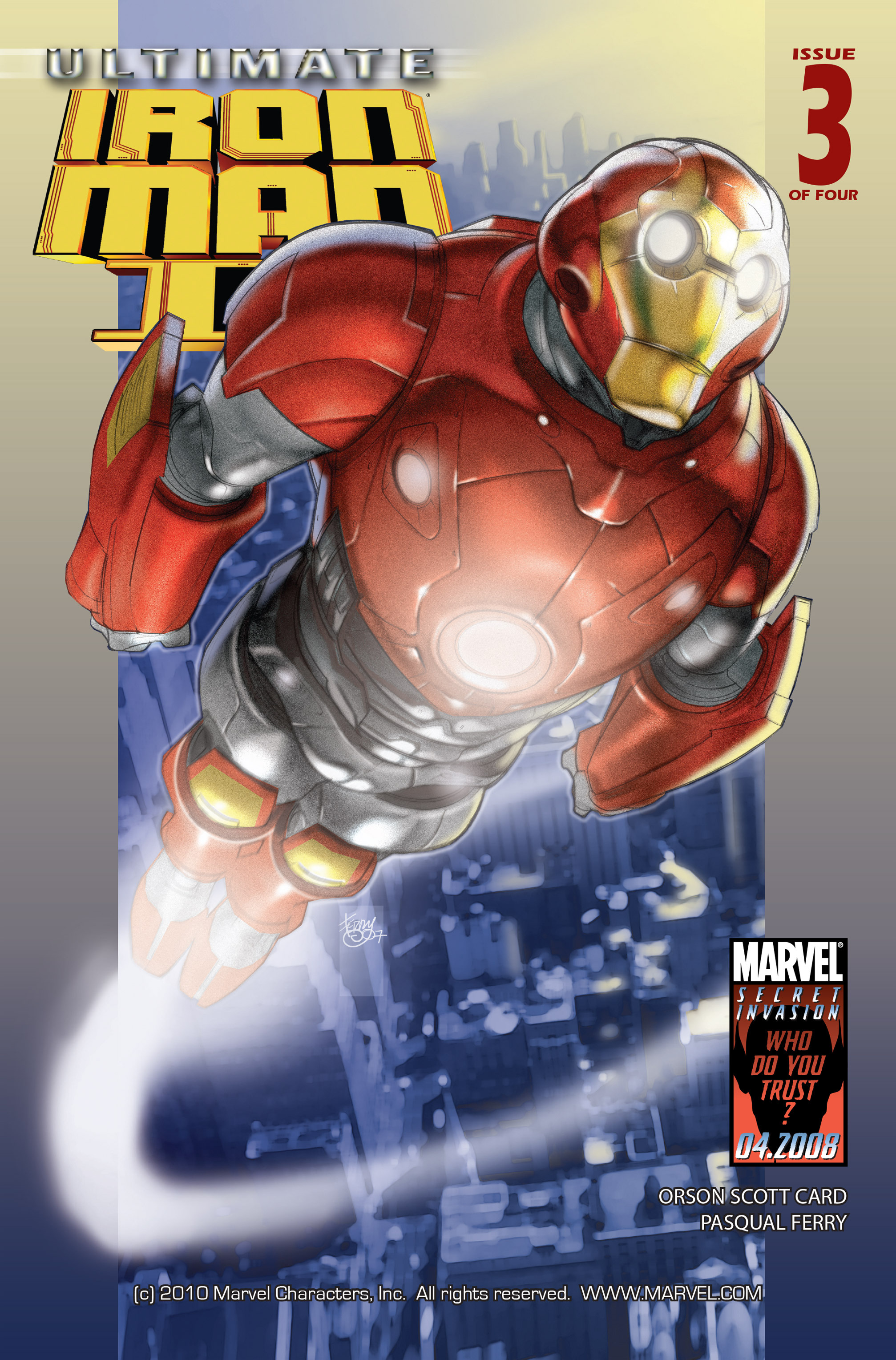 Read online Ultimate Iron Man II comic -  Issue #3 - 1