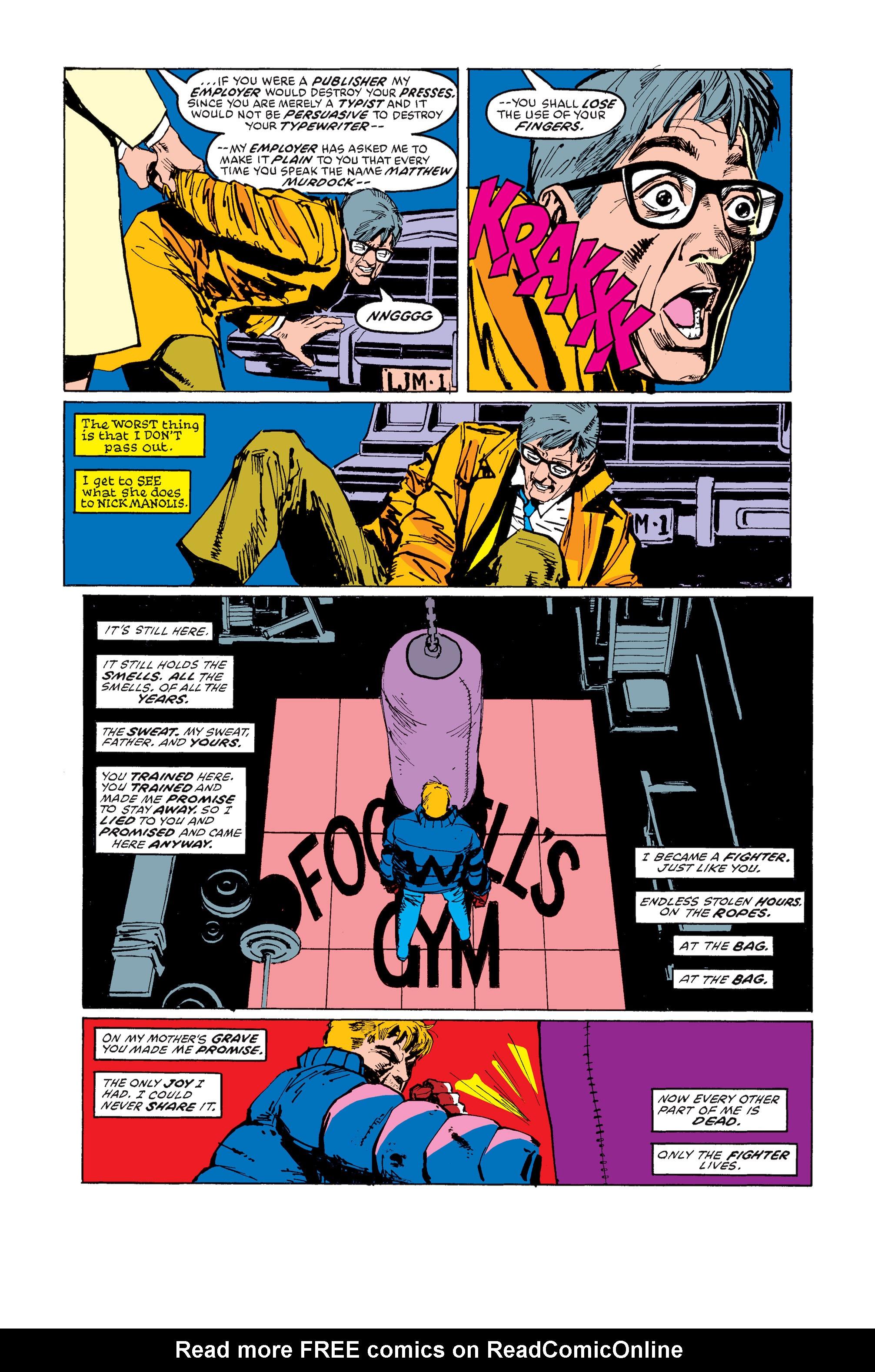 Read online Daredevil: Born Again comic -  Issue # Full - 95