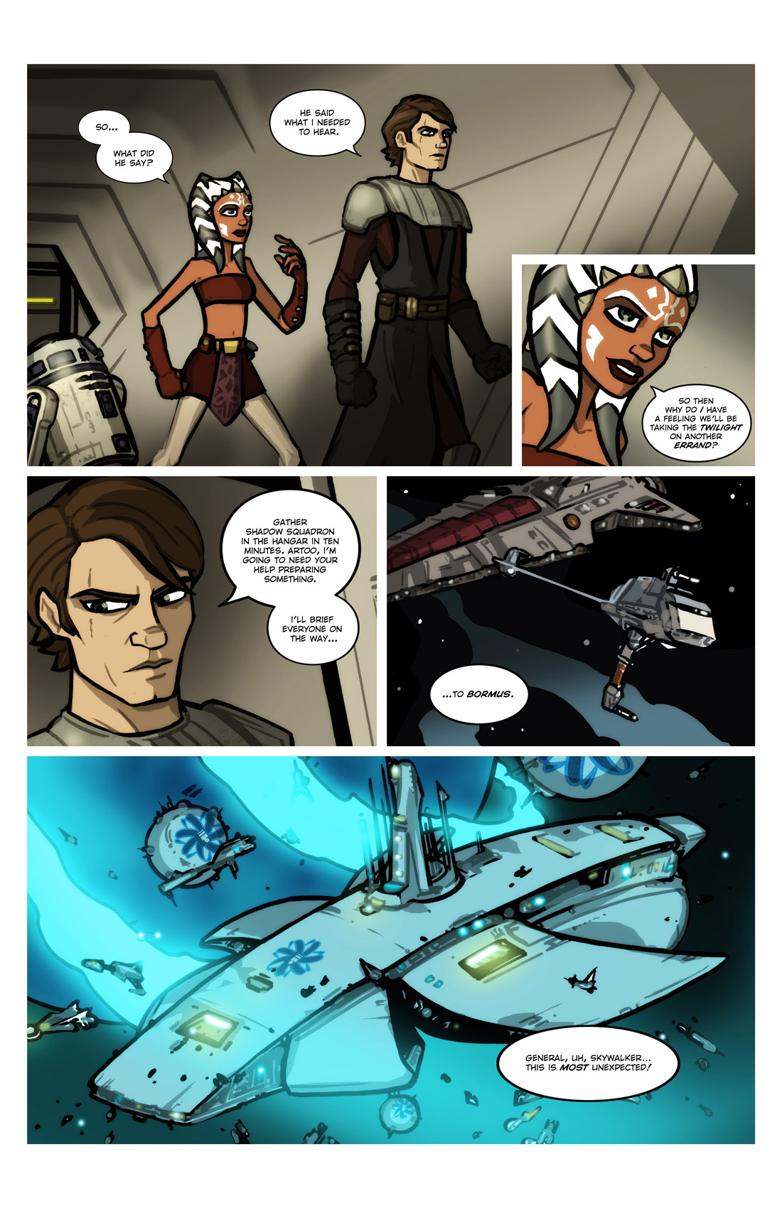 Read online Star Wars: Tales From The Clone Wars comic -  Issue # TPB - 20