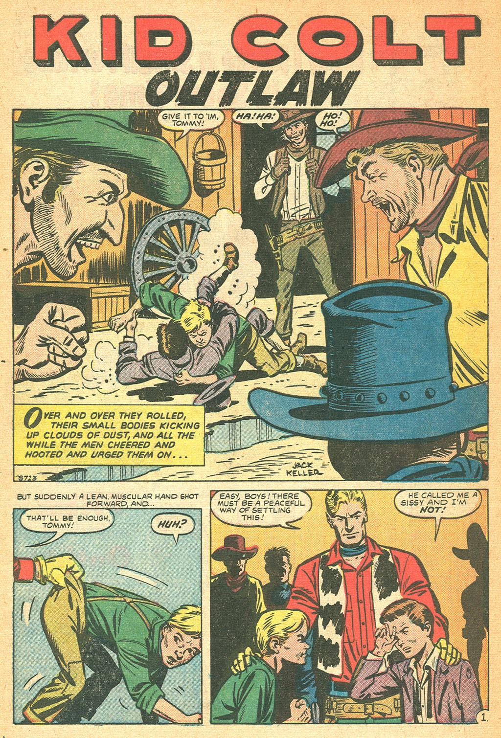 Kid Colt Outlaw issue 53 - Page 10
